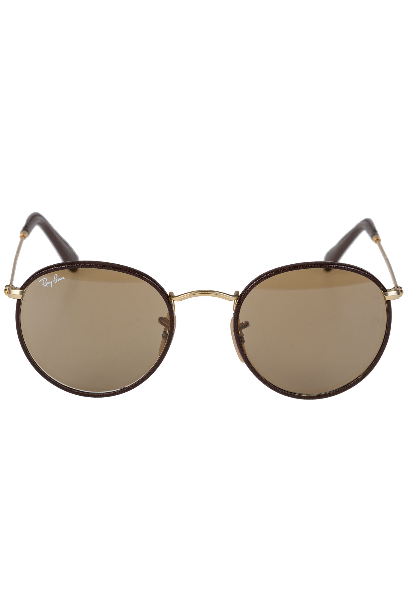 Ray ban round craft sunglasses 50mm matte arista brown for Ray ban round craft