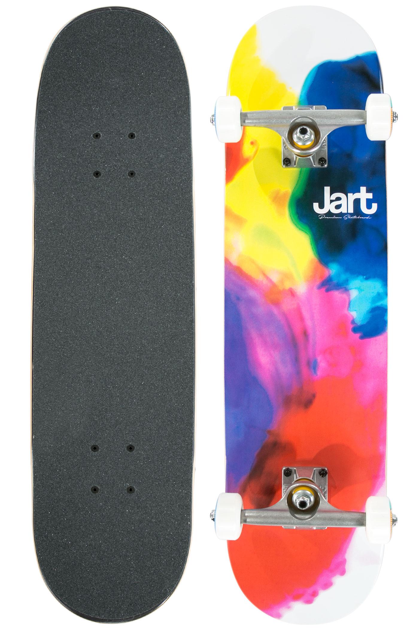 Jart skateboards paint complete board multi buy at for Best paint for skateboard decks