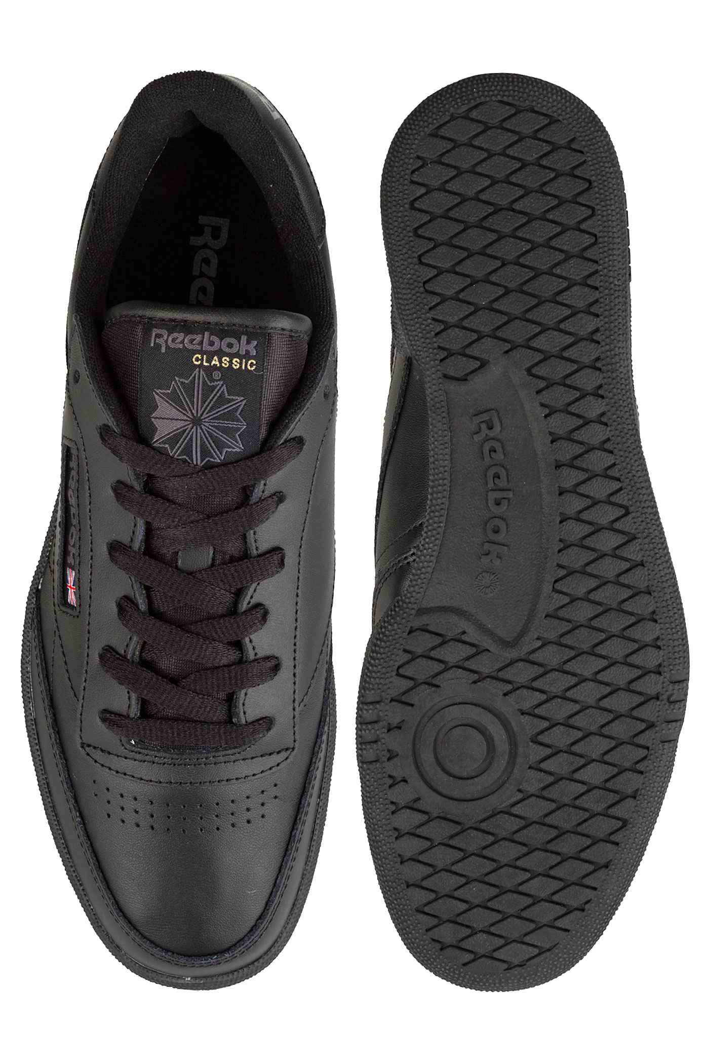 Reebok Charcoal Club 85 C Chaussureblack lFKJ1c