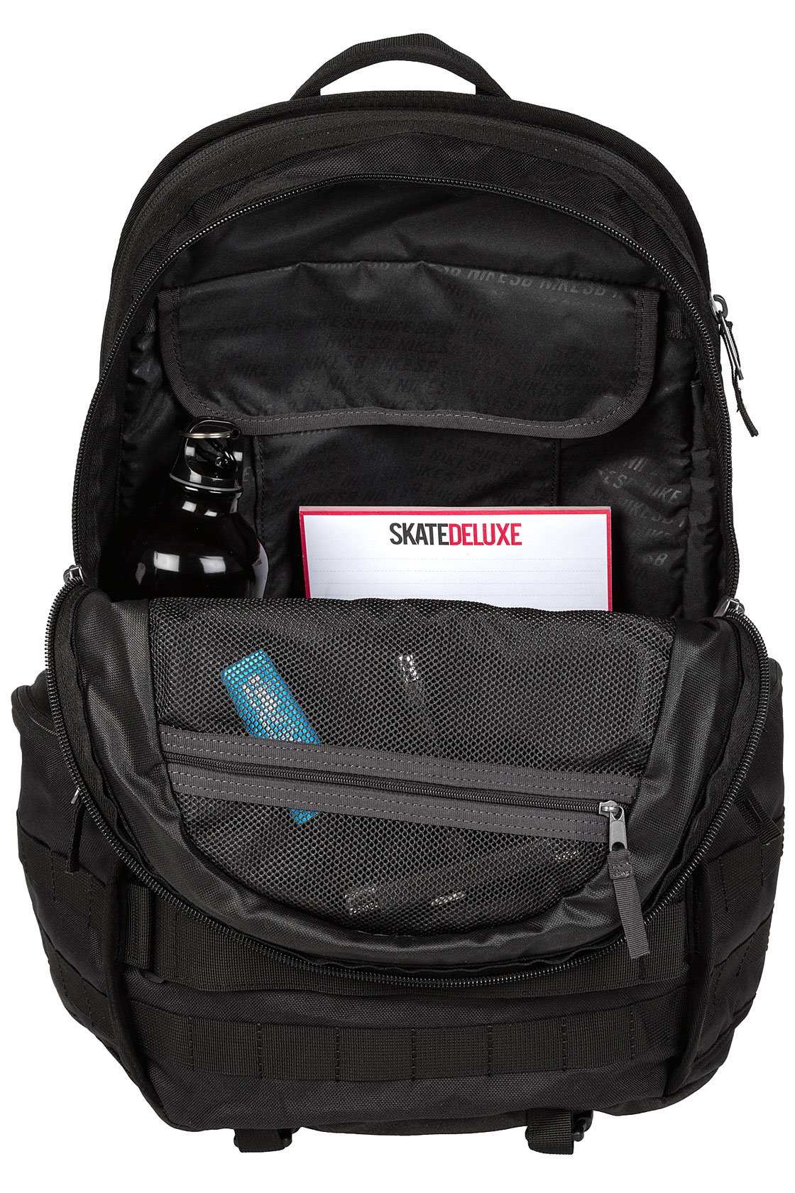 nike sb rpm backpack 26l black buy at skatedeluxe. Black Bedroom Furniture Sets. Home Design Ideas