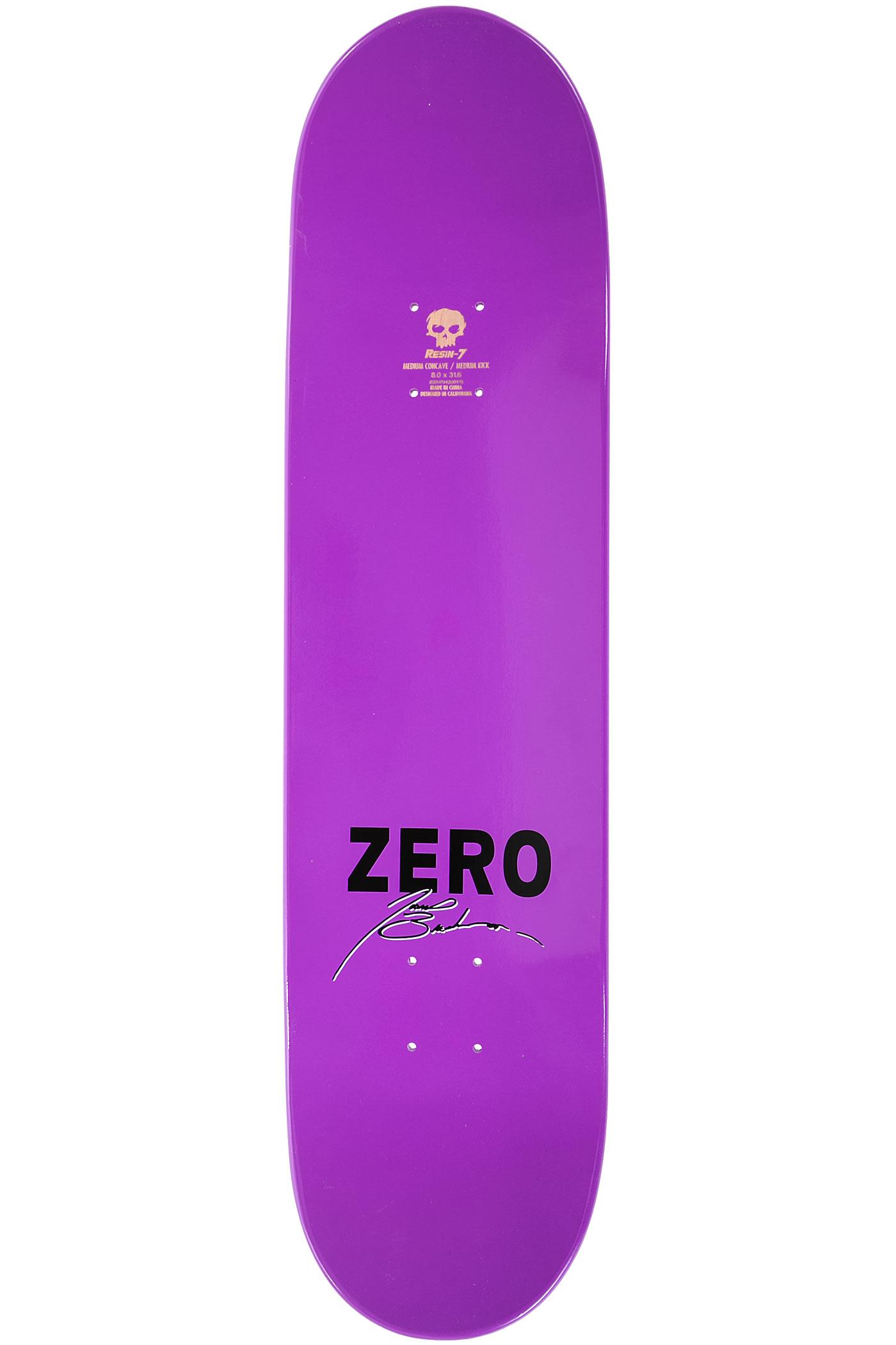 zero brockman corporal 8 deck purple kaufen bei skatedeluxe. Black Bedroom Furniture Sets. Home Design Ideas