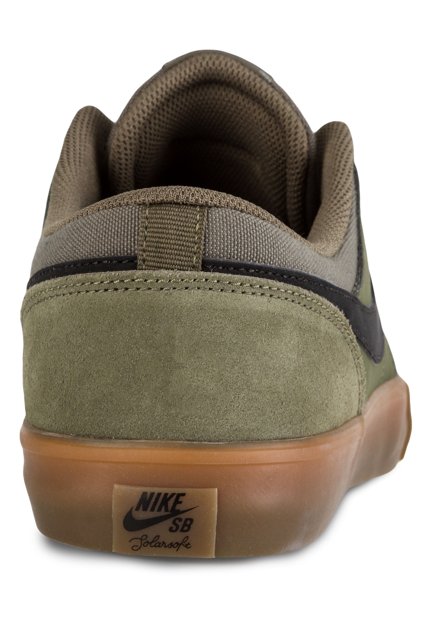 nike sb solarsoft portmore ii schuh medium olive black kaufen bei skatedeluxe. Black Bedroom Furniture Sets. Home Design Ideas