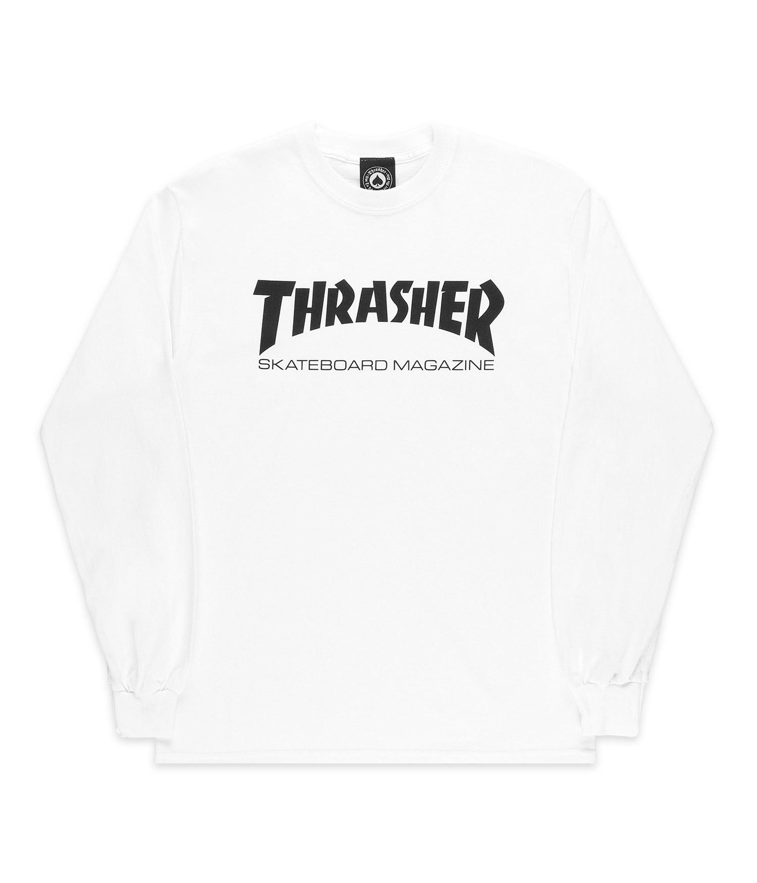 Longues Thrasher Thrasher Longues Mancheswhite Mancheswhite Skate Skate Thrasher Skate Mag Mag wkOiuXPZT