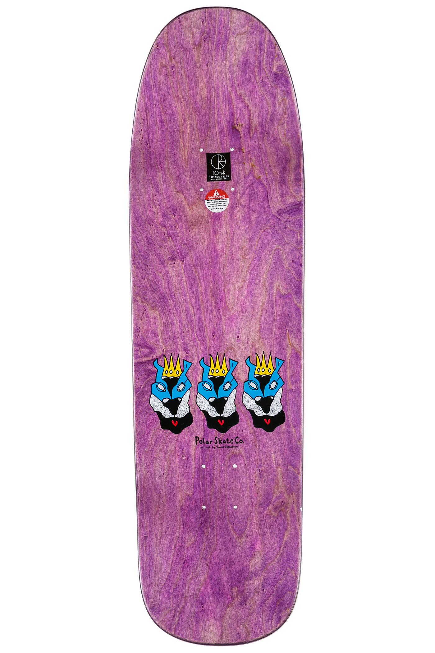 Polar Skateboards Boserio Lion King 9.25
