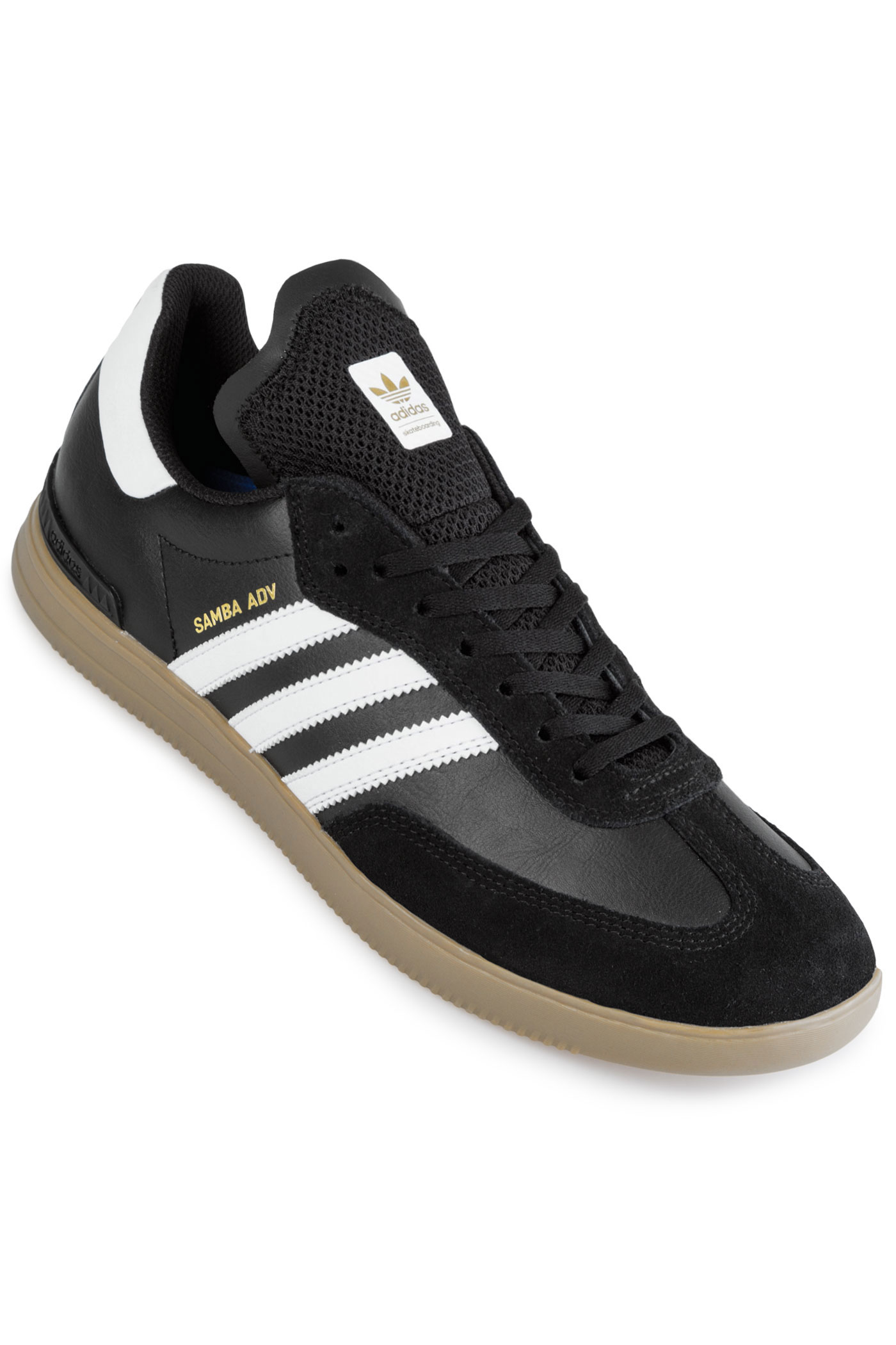 Adidas Black Adv Chaussurecore Samba White Skateboarding mnw8O0vN