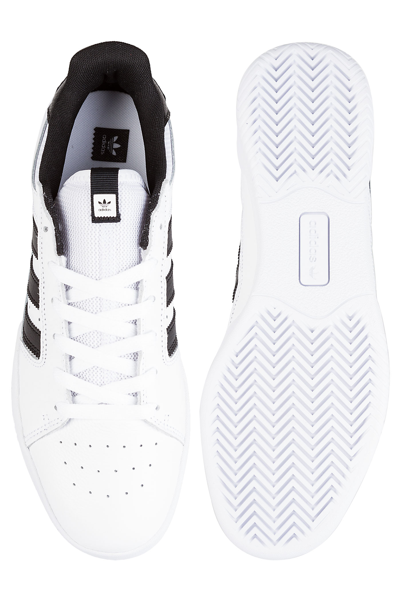 Low Adidas White Skateboarding Chaussurewhite Black Vrx Core 3A5Rq4jL