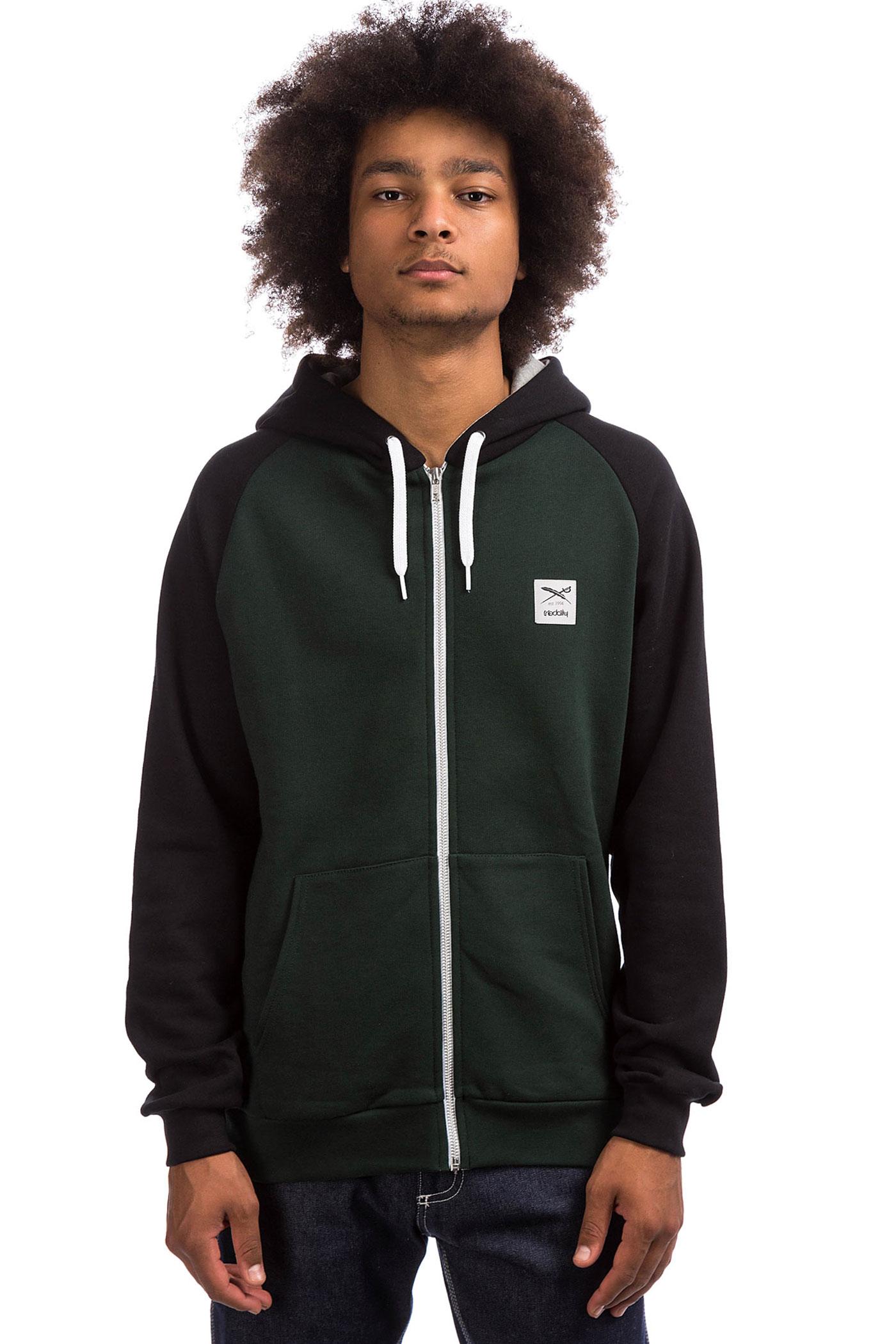 College Avec Iriedaily De Capuchonhunter Zip sweatshirt 34jRLc5Aq