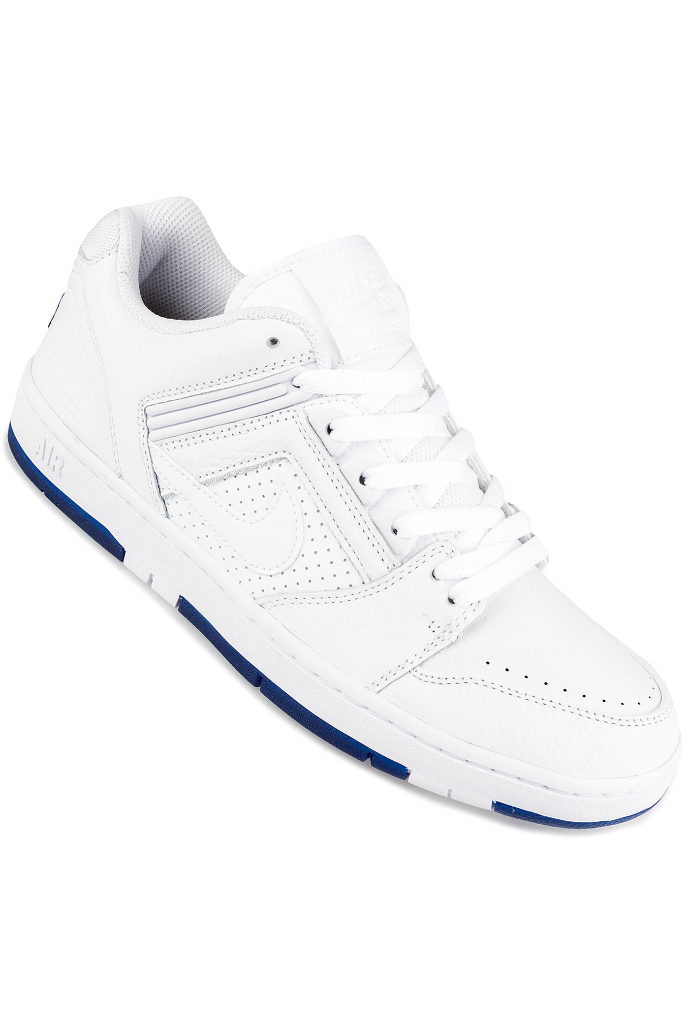 competitive price f2989 9d271 Nike SB Air Force II Low Kevin Bradley QS Shoes (white white blue void)