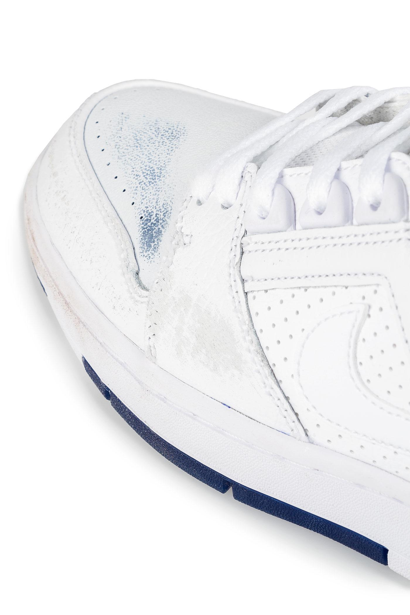 ... Nike SB Air Force II Low Kevin Bradley QS Shoes (white white blue void) b4d629526