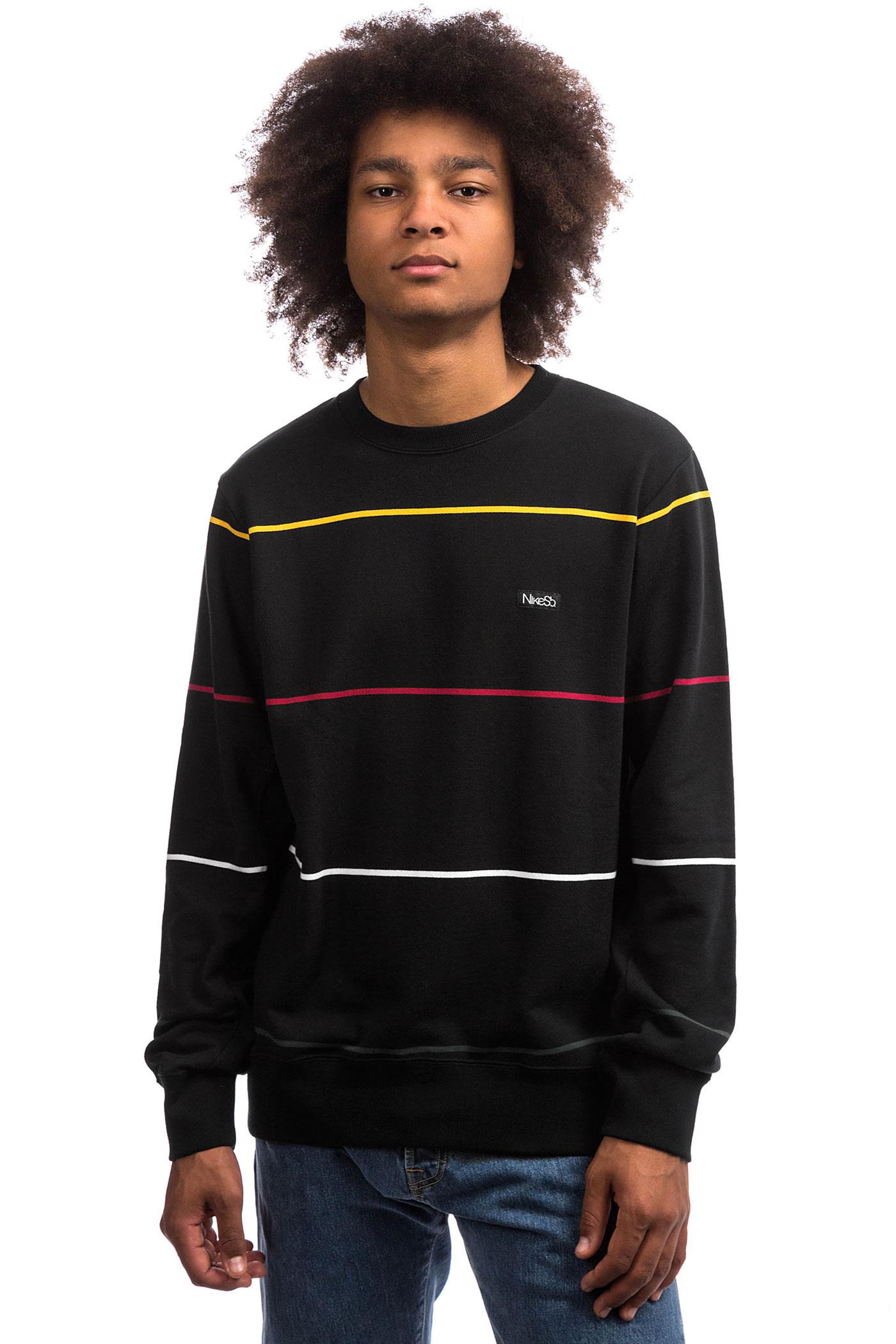 Nike Sb Everett Black Stripe Sweatshirtblack OPTXkiuZ