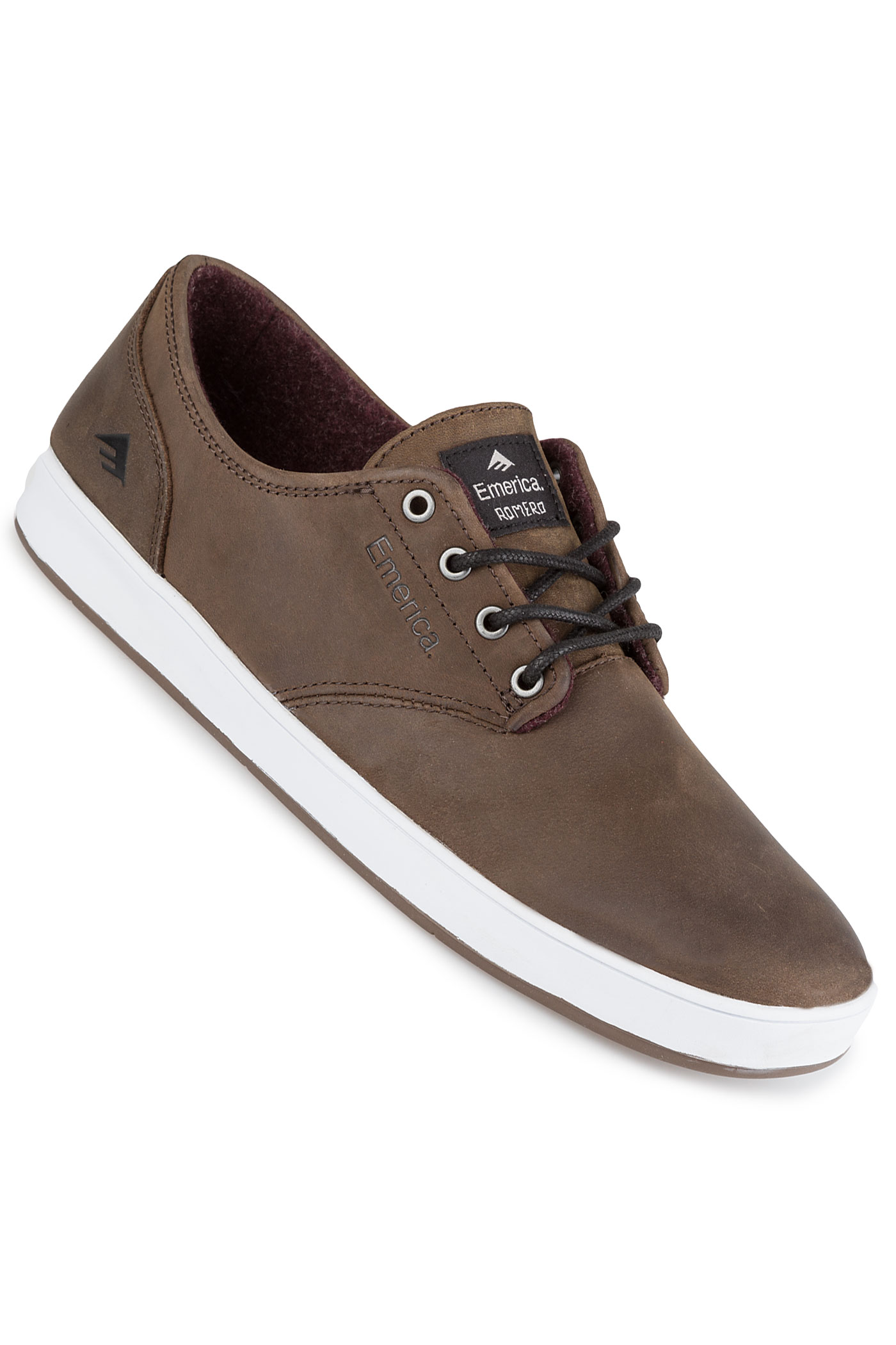 Laced Grey The Romero Chaussurebrown Emerica White 34qLA5jR