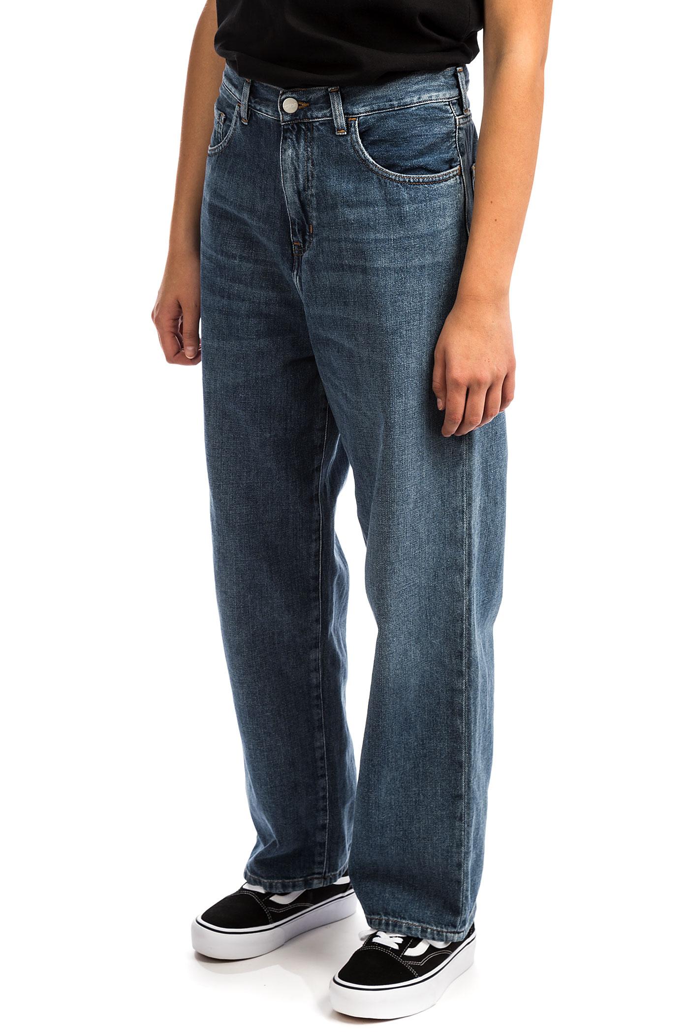 Jeans Pant Dark Carhartt Washed Womenblue Wip Newport Stone W' Jay 5SL4Rq3Acj