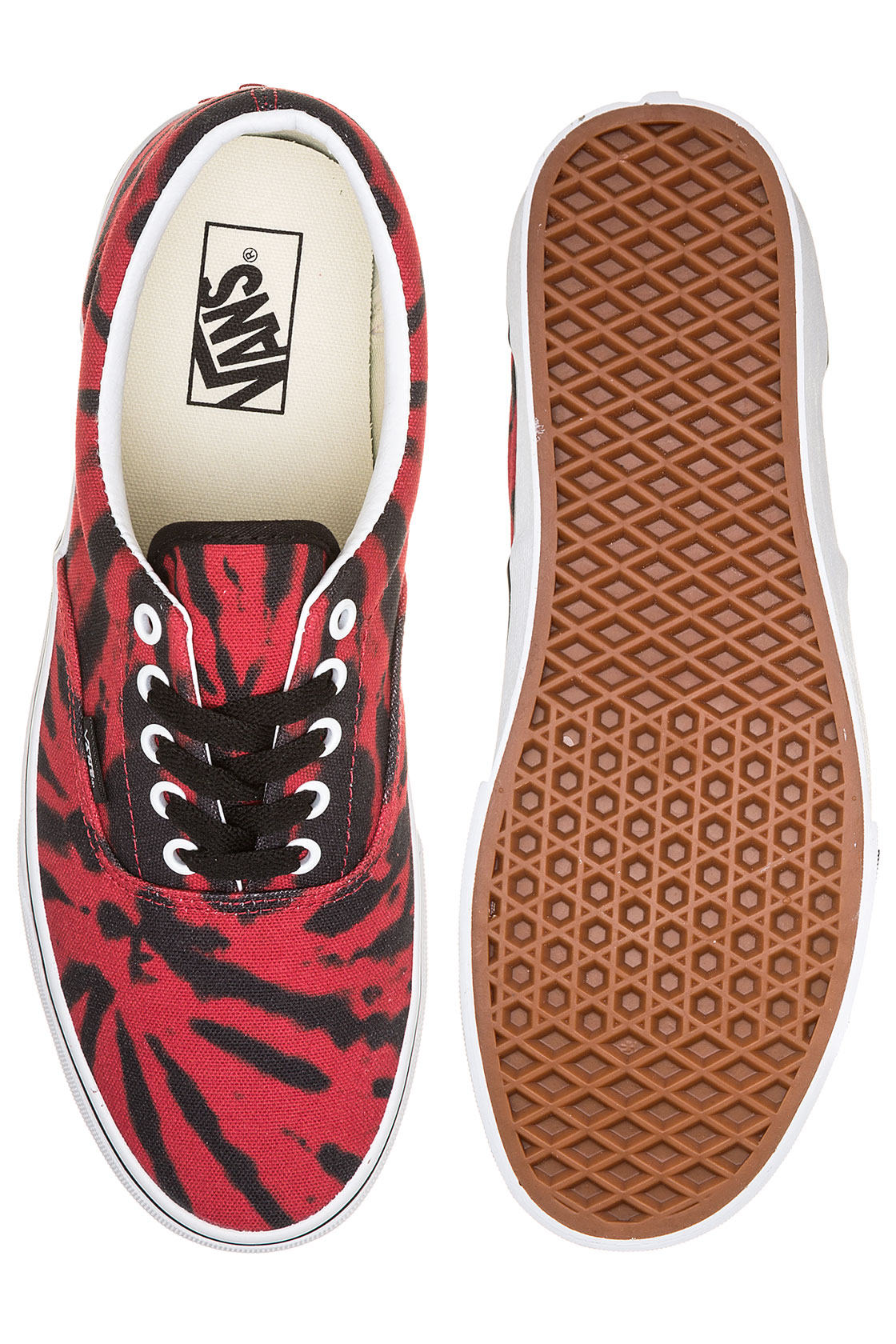Chaussuretango Tie Vans Red Era Dye True nv0mNwOy8