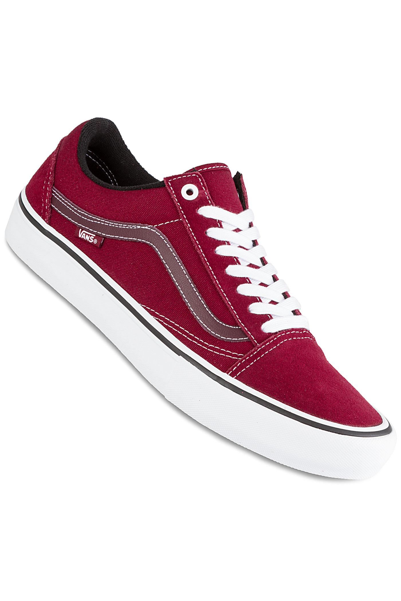 True Old Skool Red Vans Chaussurerumba White Pro 43ARc5qLj