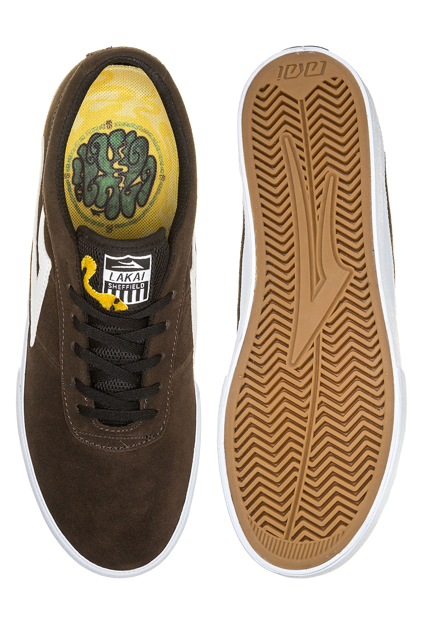 Lakai Sheffield Chaussurechocolate Suede Bannerot Simon 0OmNw8vn