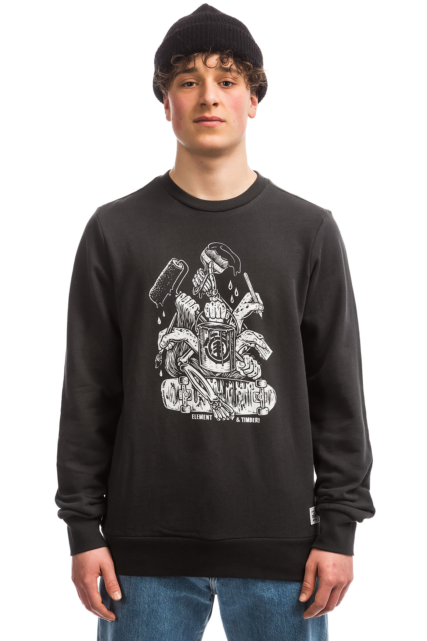 Element Sweatshirtoff Black Hand X TimberBy eWBoQrxdC
