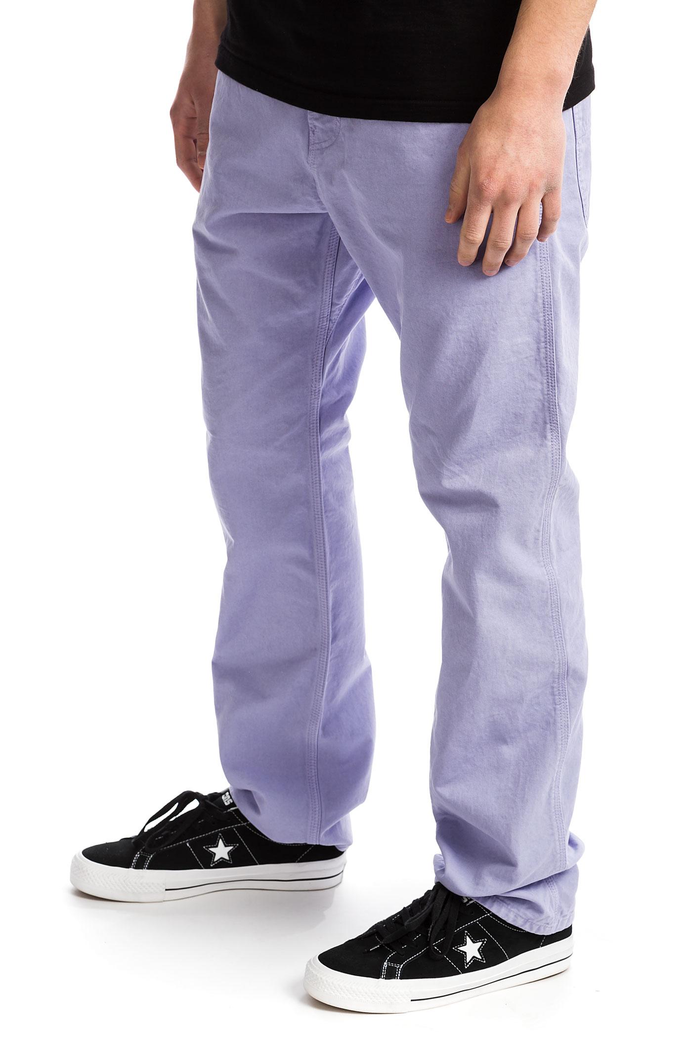Chalk Carhartt Wip Pantalonssoft Pant Lavender Newcomb TKcJlF1