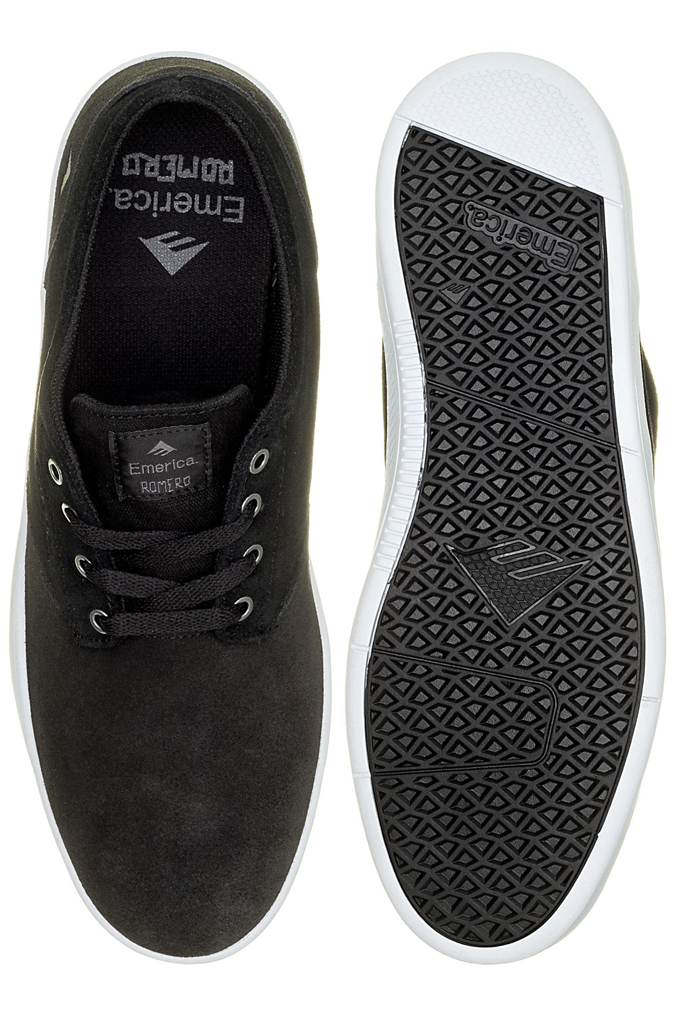 Romero Emerica Chaussuredark White Grey The Laced Black Yyb7f6gv