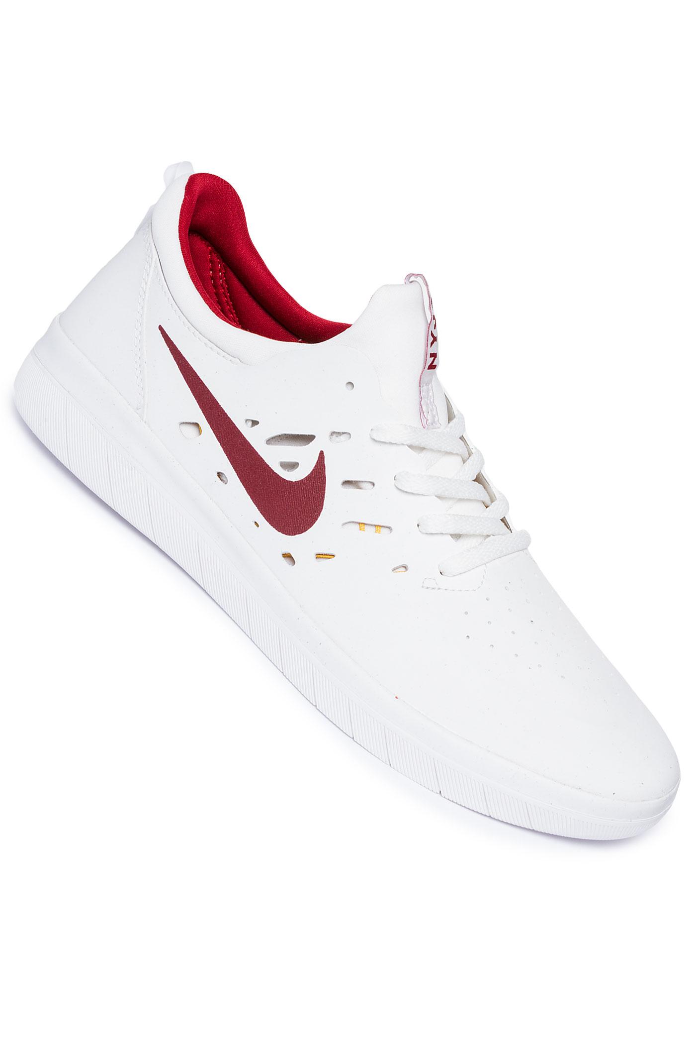Sb White Crimson Nike Nyjah Tream Free Chaussuresummit TOPZikXu