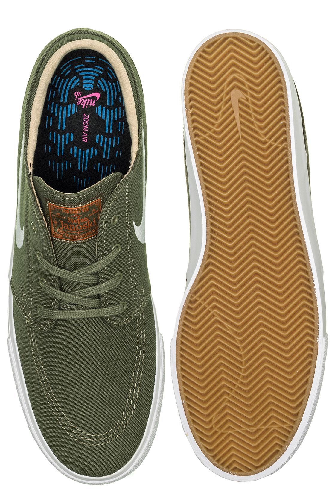 Zoom Janoski Chaussuremedium Sb Gum Rm Nike Canvas Olive wyNn0Ovm8