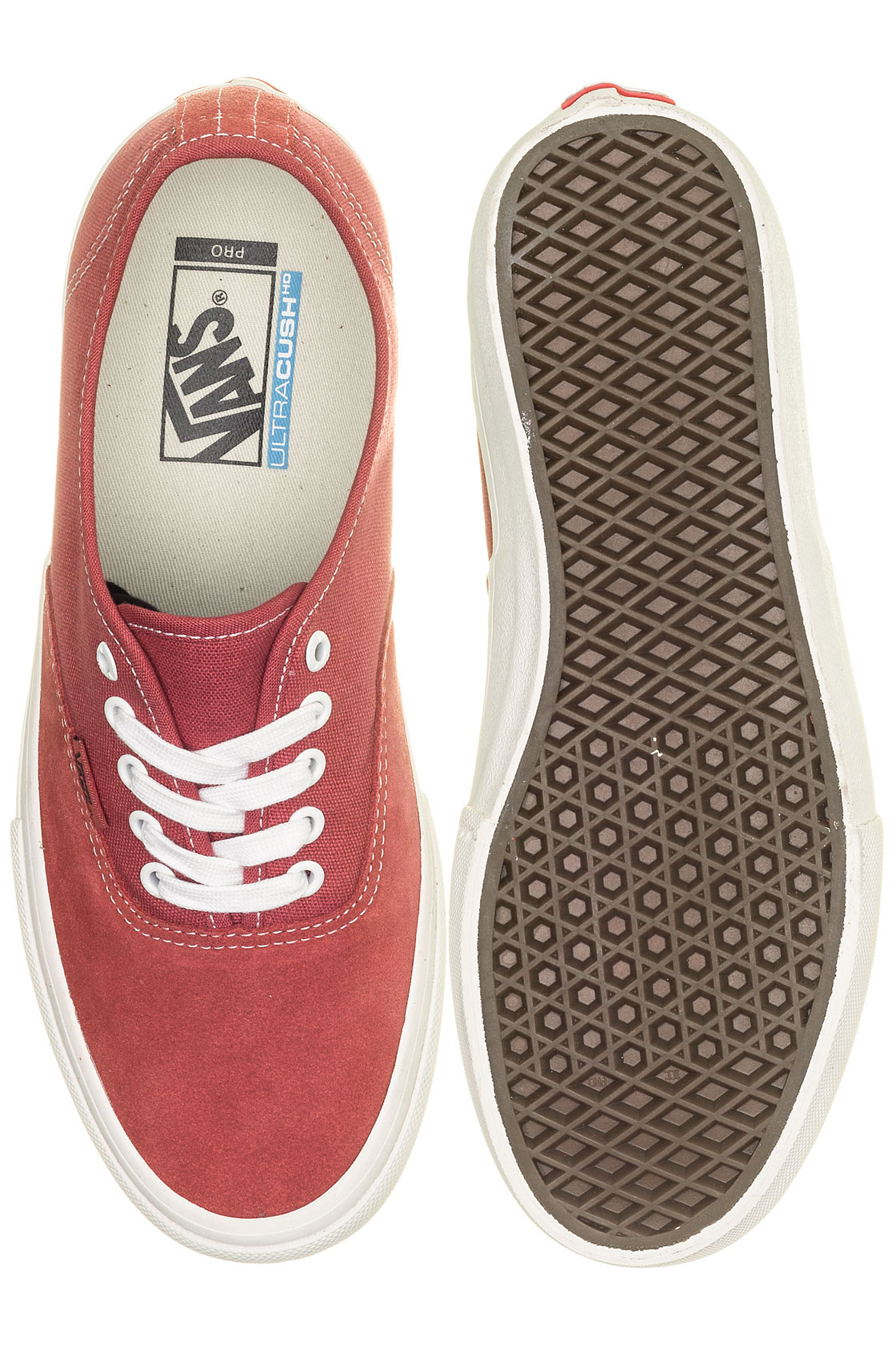 Chaussuremineral Authentic Pro Red Marshmallow Vans JcF1lKT