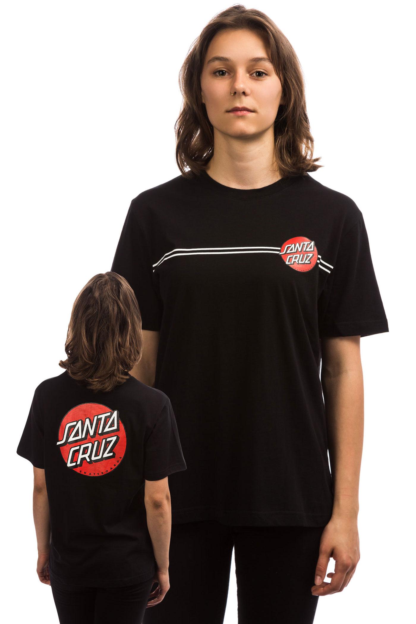 Og Womenblack Classic shirt Cruz Dot Santa T IEWH29YD