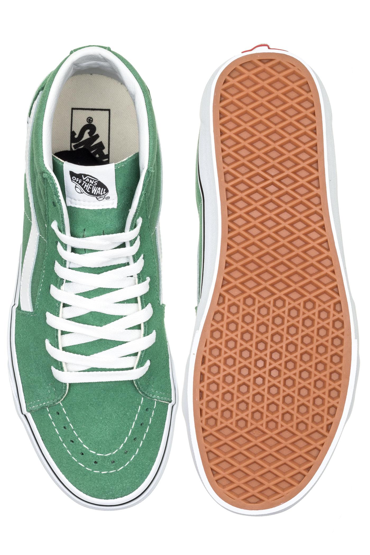 Green Grass Vans Sk8 hi Chaussuredeep 8nmN0w