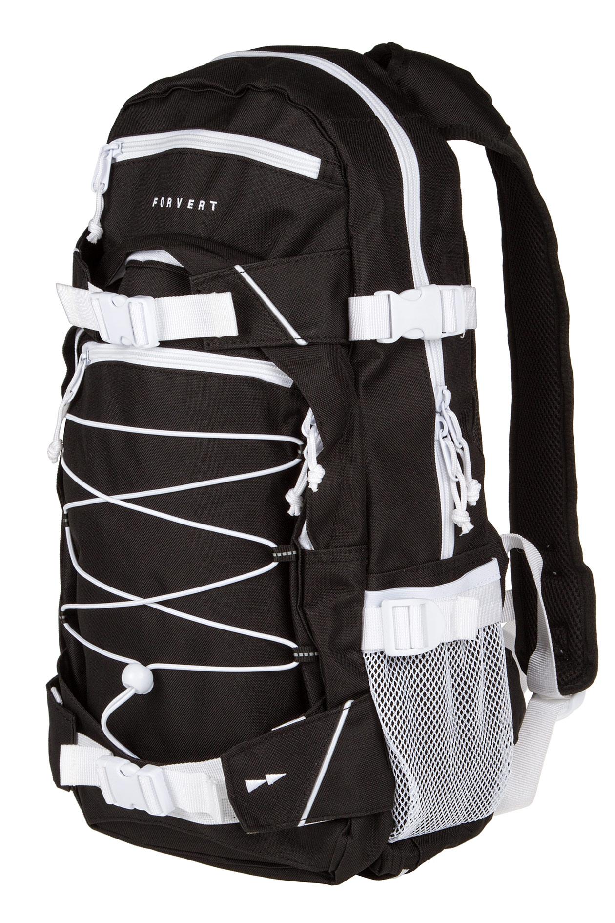 forvert ice louis backpack 20l black buy at skatedeluxe. Black Bedroom Furniture Sets. Home Design Ideas