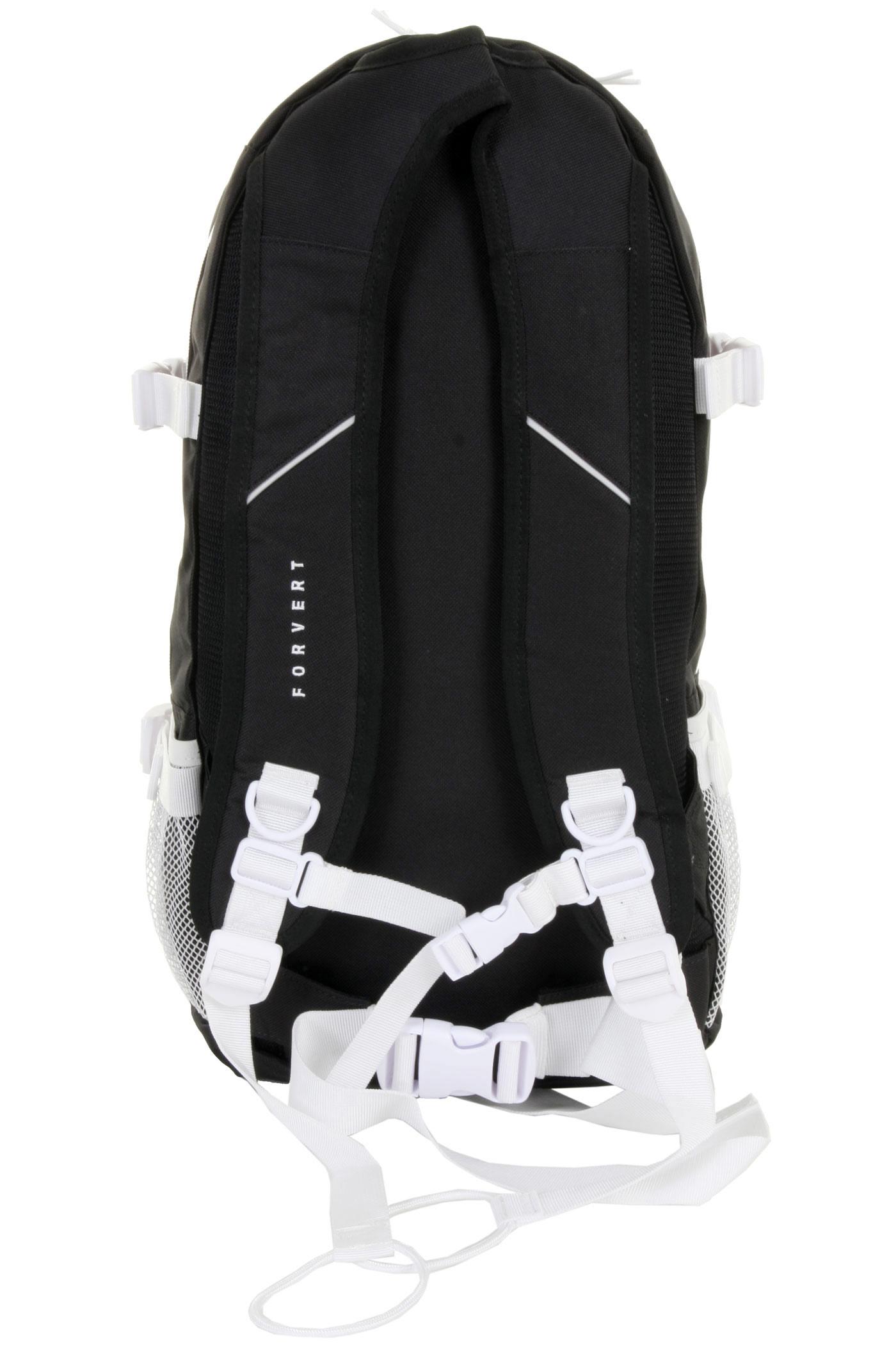 forvert ice louis backpack 20l black achetez sur skatedeluxe. Black Bedroom Furniture Sets. Home Design Ideas