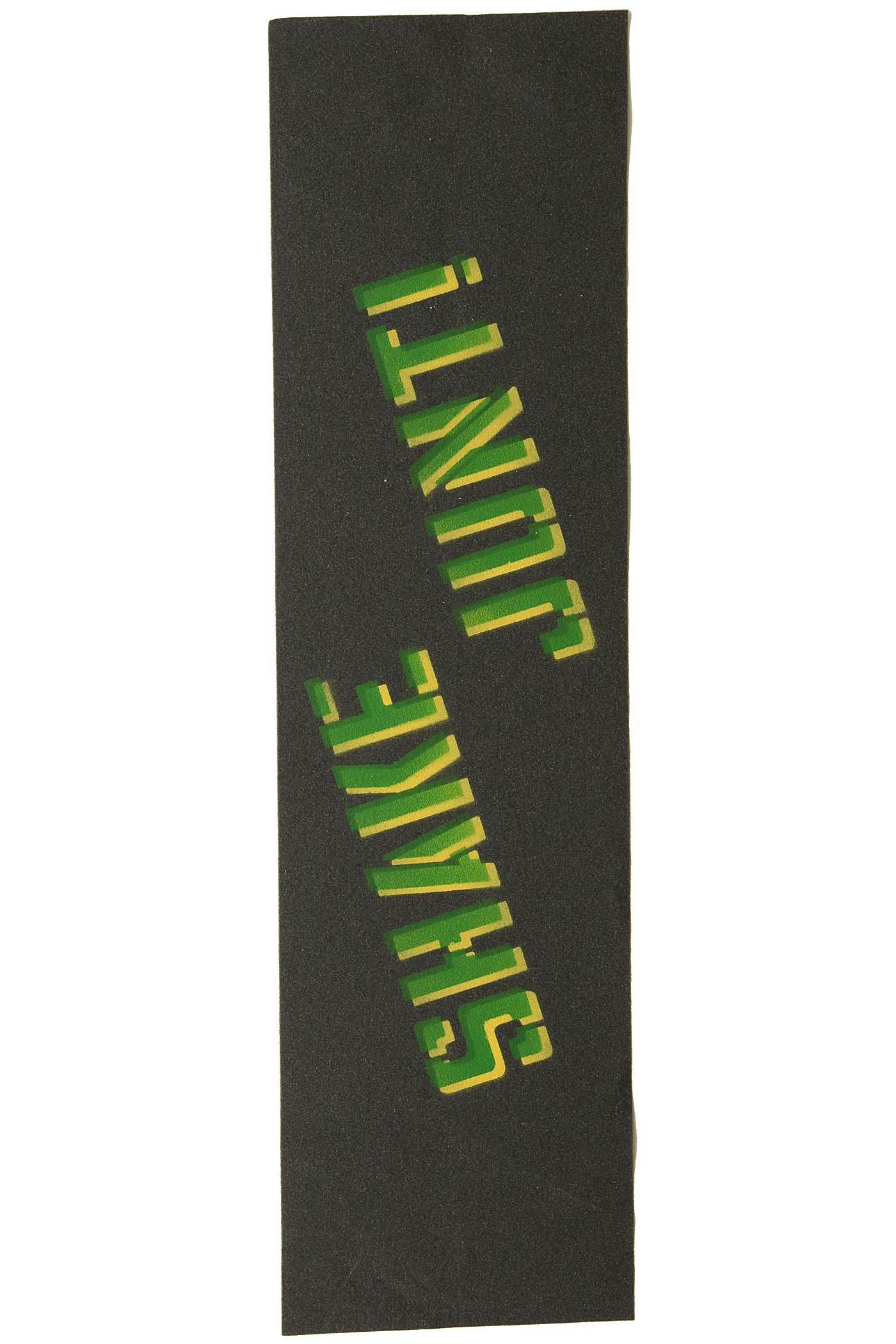 Shake Junt Stencil Logo Griptape (black) buy at skatedeluxe  Shake Junt Sten...