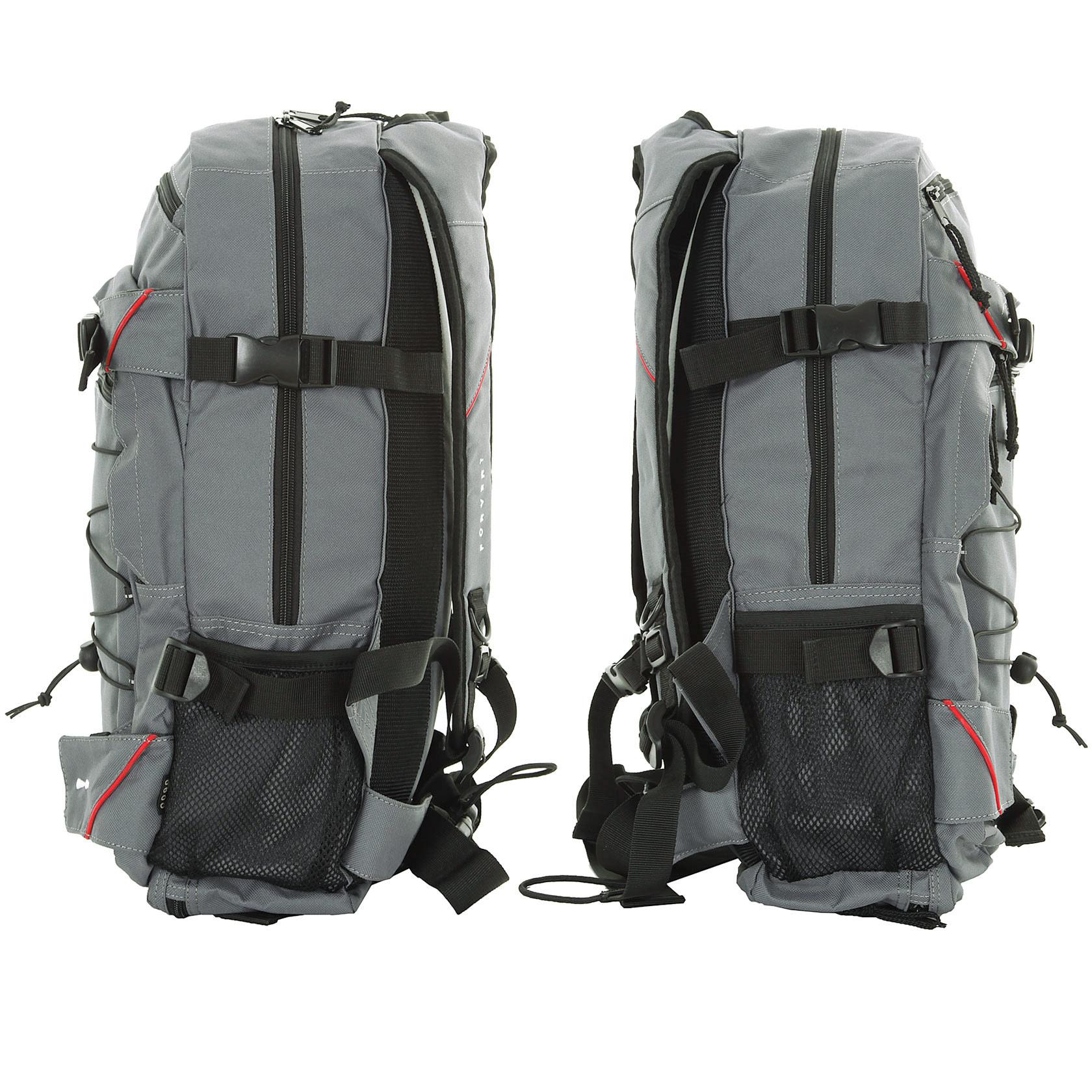 forvert louis backpack 20l grey buy at skatedeluxe. Black Bedroom Furniture Sets. Home Design Ideas