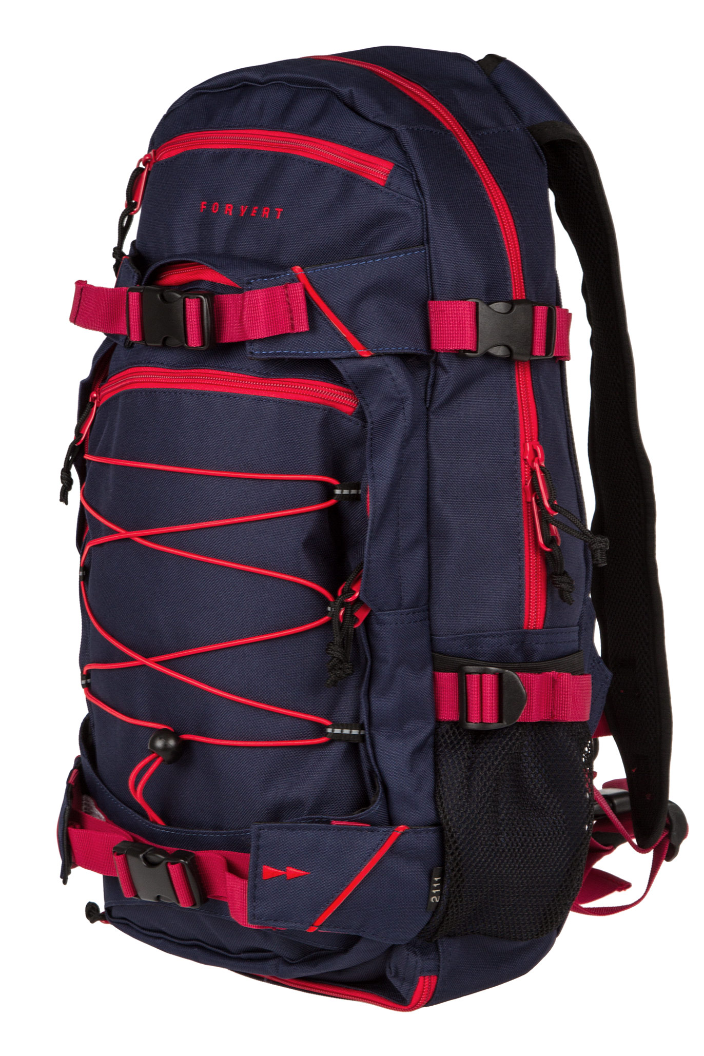 forvert ice louis backpack 20l navy red buy at skatedeluxe. Black Bedroom Furniture Sets. Home Design Ideas