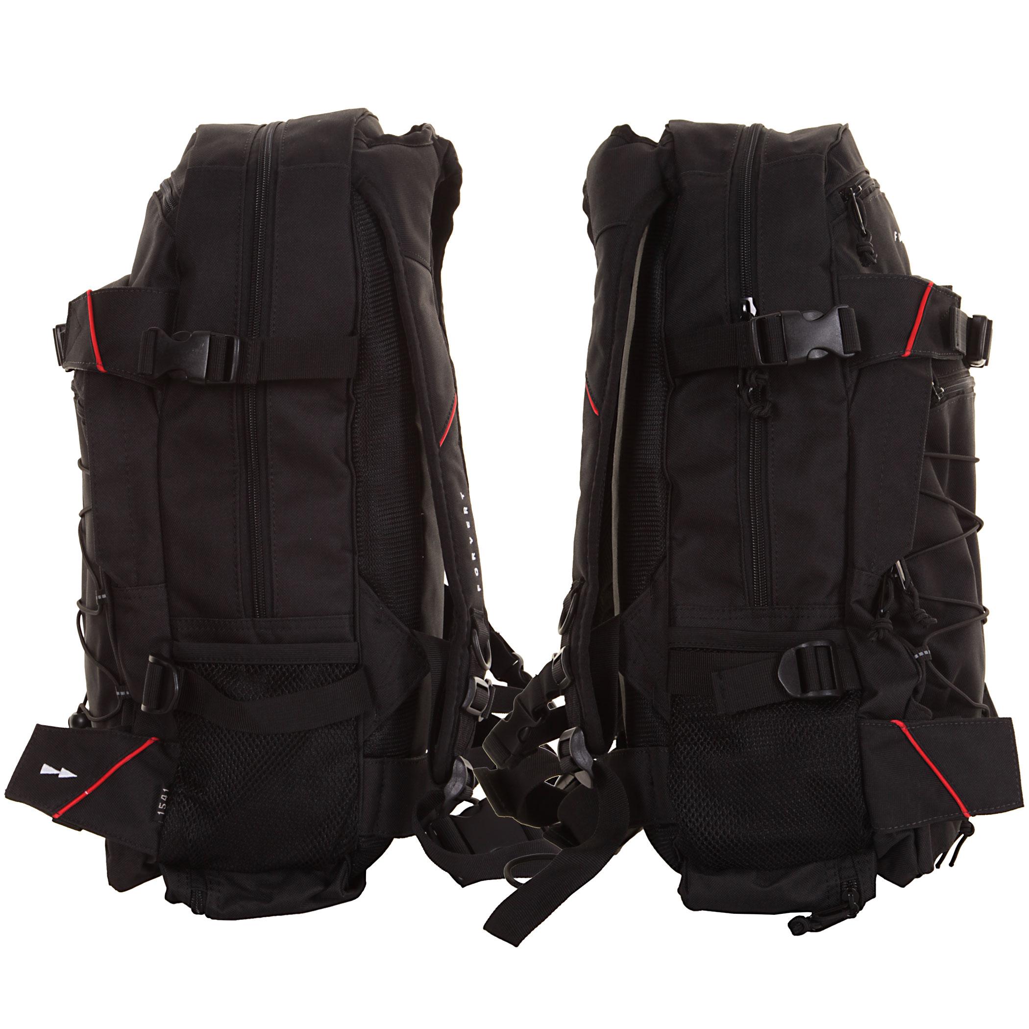 forvert louis backpack 20l black buy at skatedeluxe. Black Bedroom Furniture Sets. Home Design Ideas