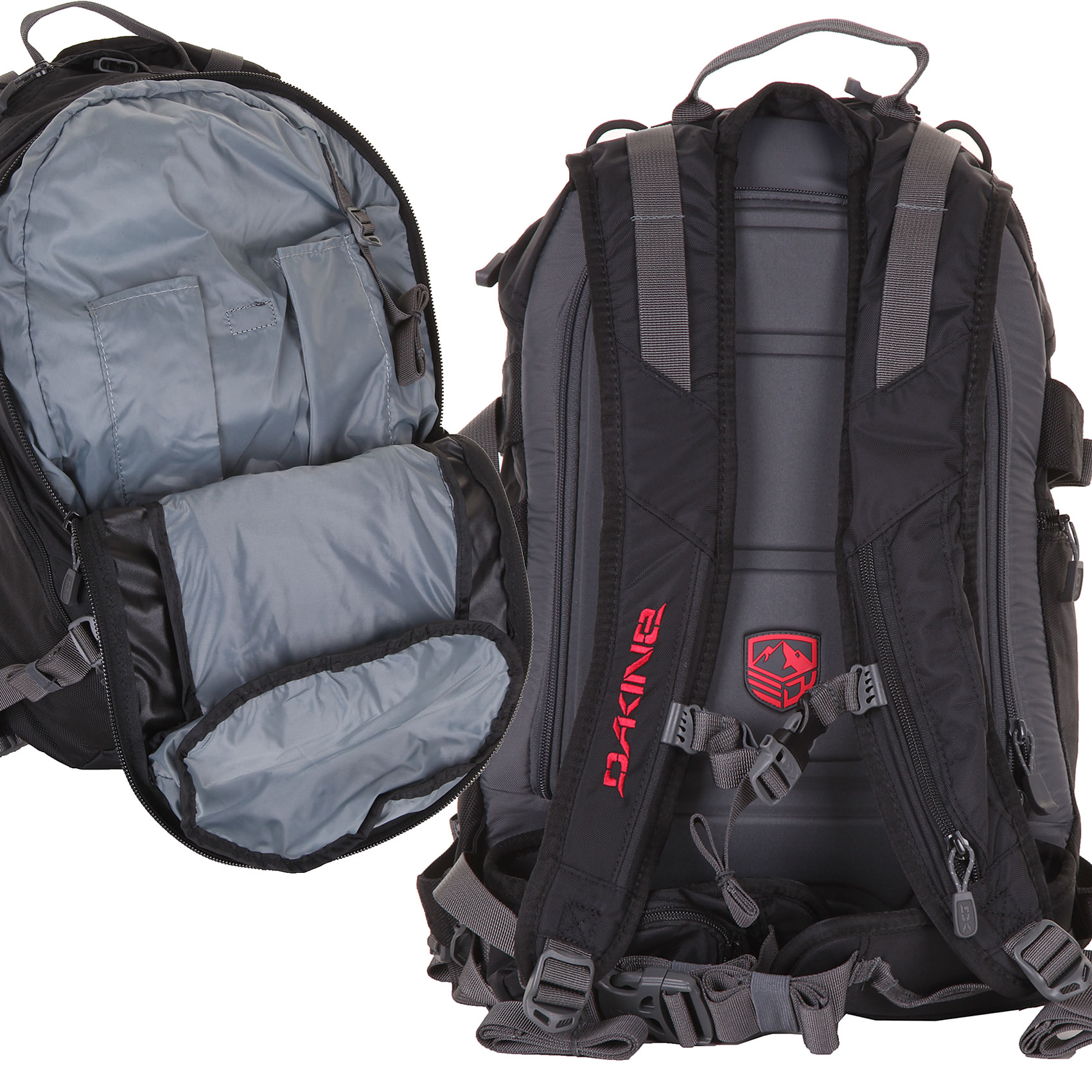 Dakine Pro II Backpack (black) buy at skatedeluxe