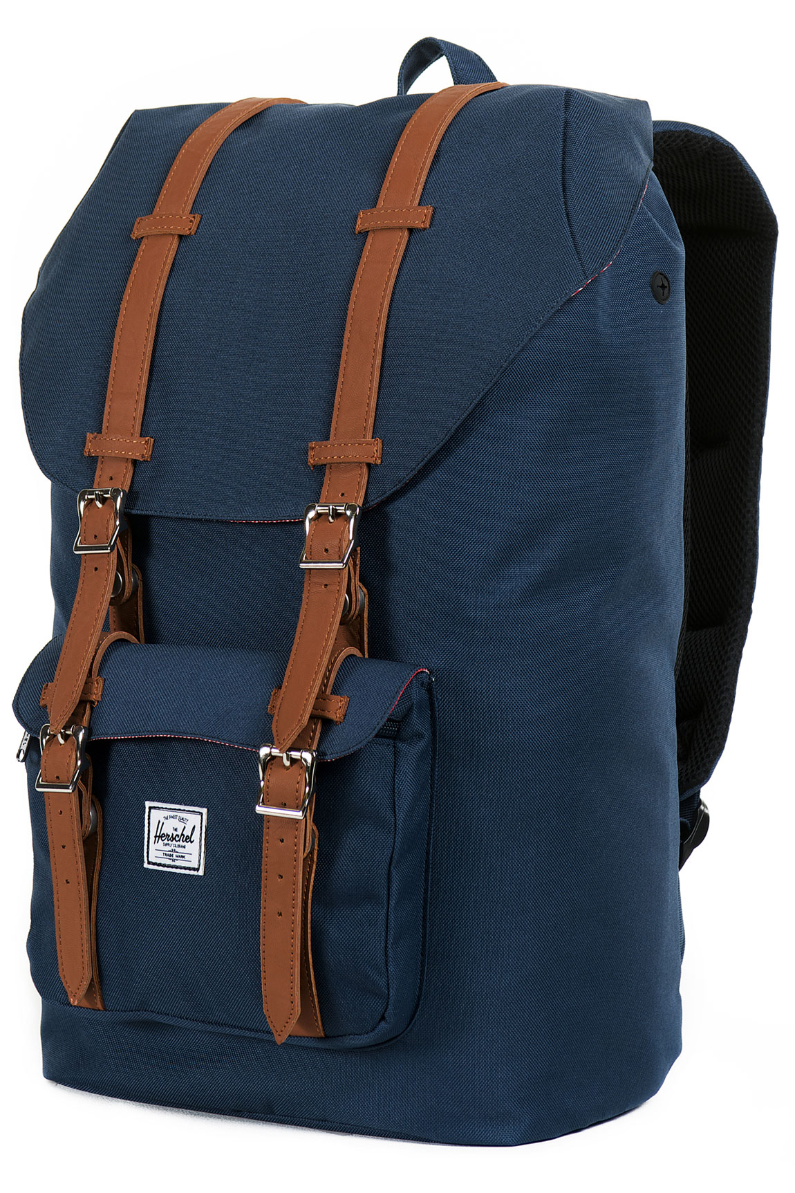 herschel little america backpack 25l navy buy at skatedeluxe. Black Bedroom Furniture Sets. Home Design Ideas