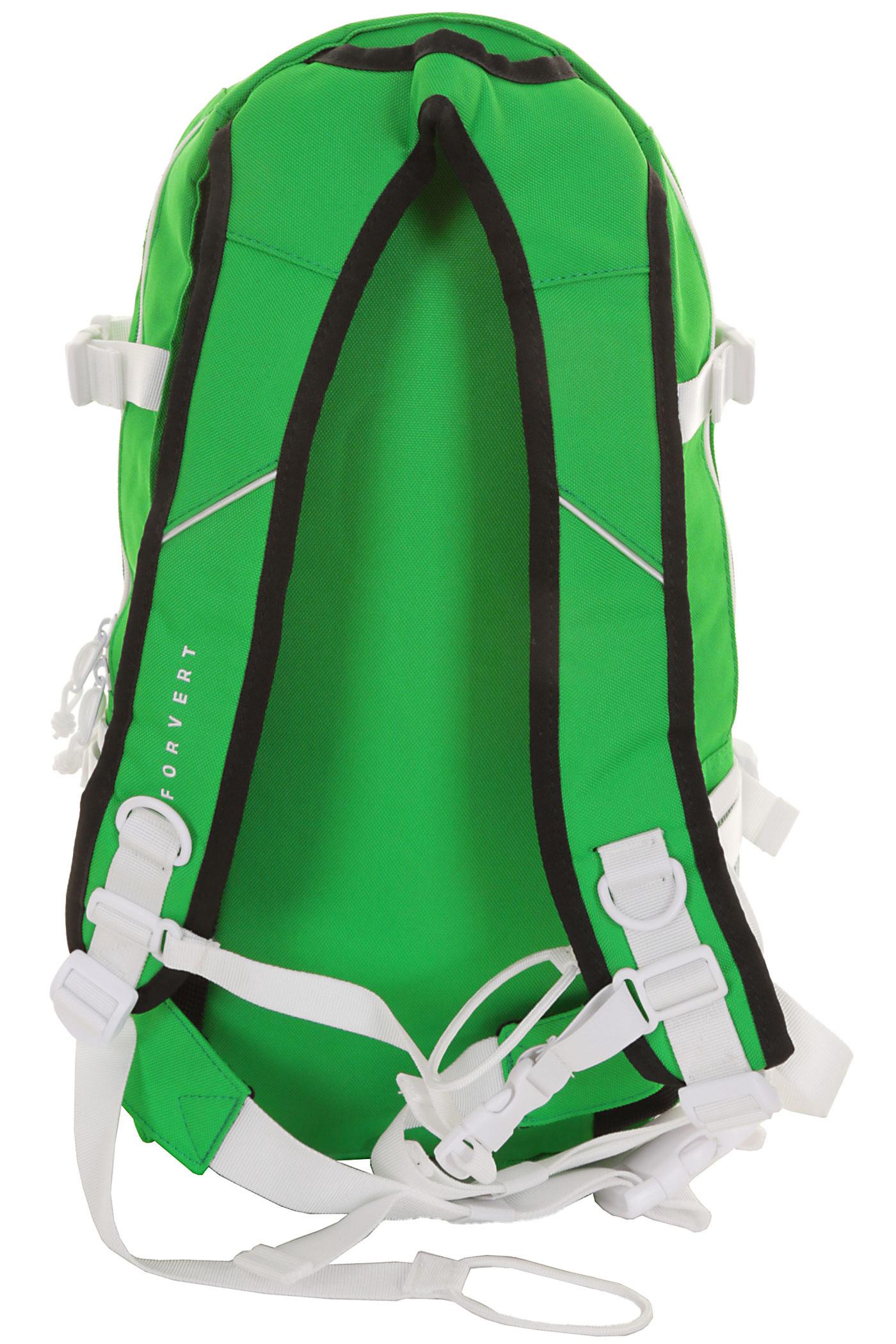 forvert ice louis backpack 20l green buy at skatedeluxe. Black Bedroom Furniture Sets. Home Design Ideas