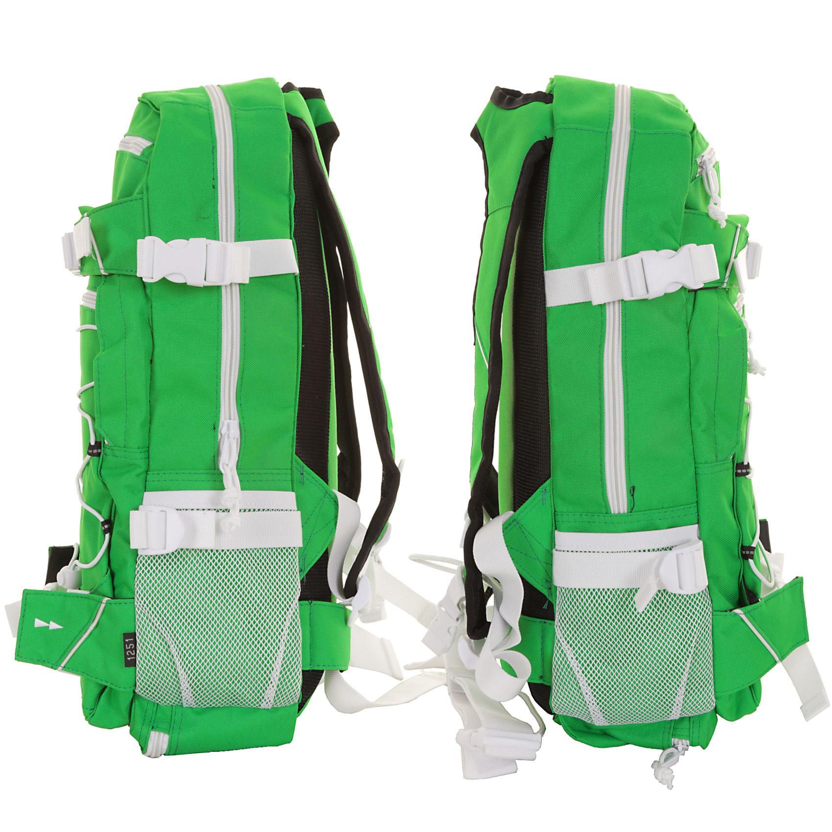 forvert ice louis rucksack 20l green kaufen bei skatedeluxe. Black Bedroom Furniture Sets. Home Design Ideas