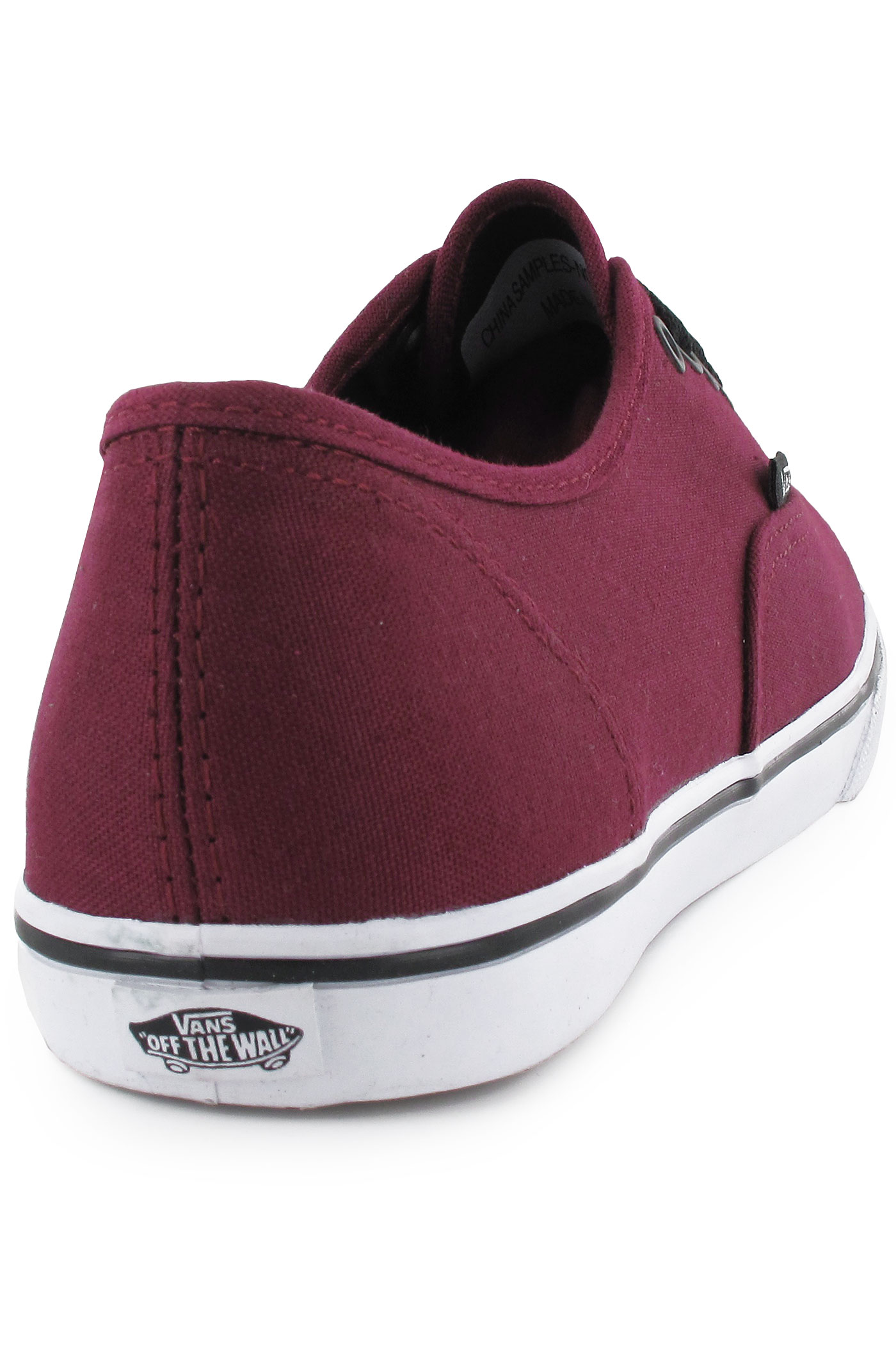 vans authentic lo pro shoes women tawny port true white. Black Bedroom Furniture Sets. Home Design Ideas