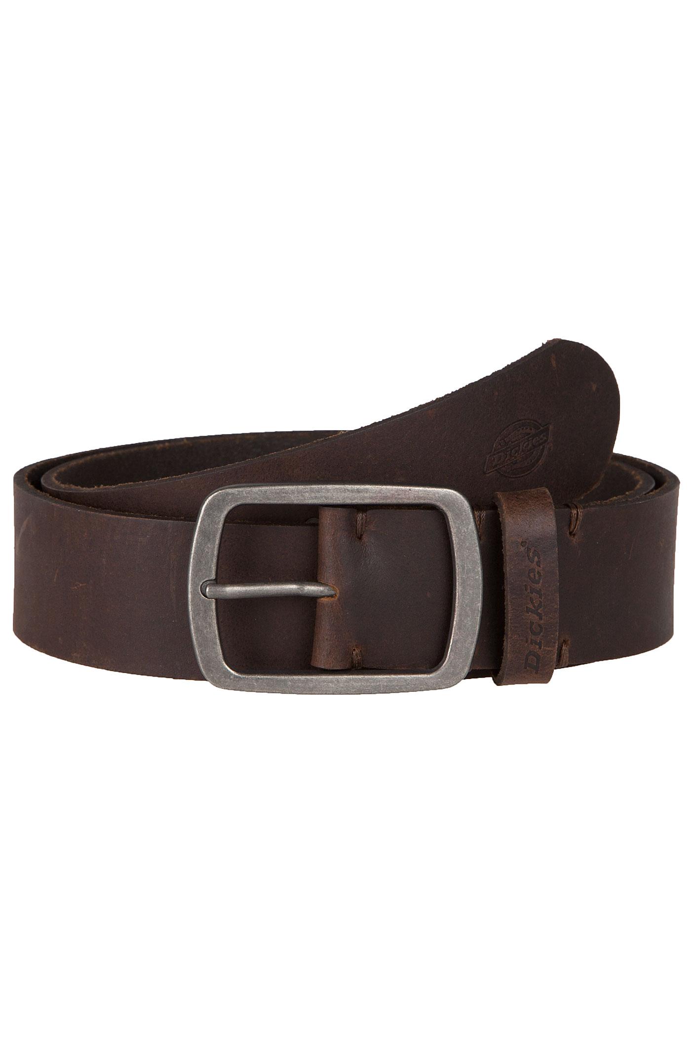 dickies eagle lake belt brown buy at skatedeluxe