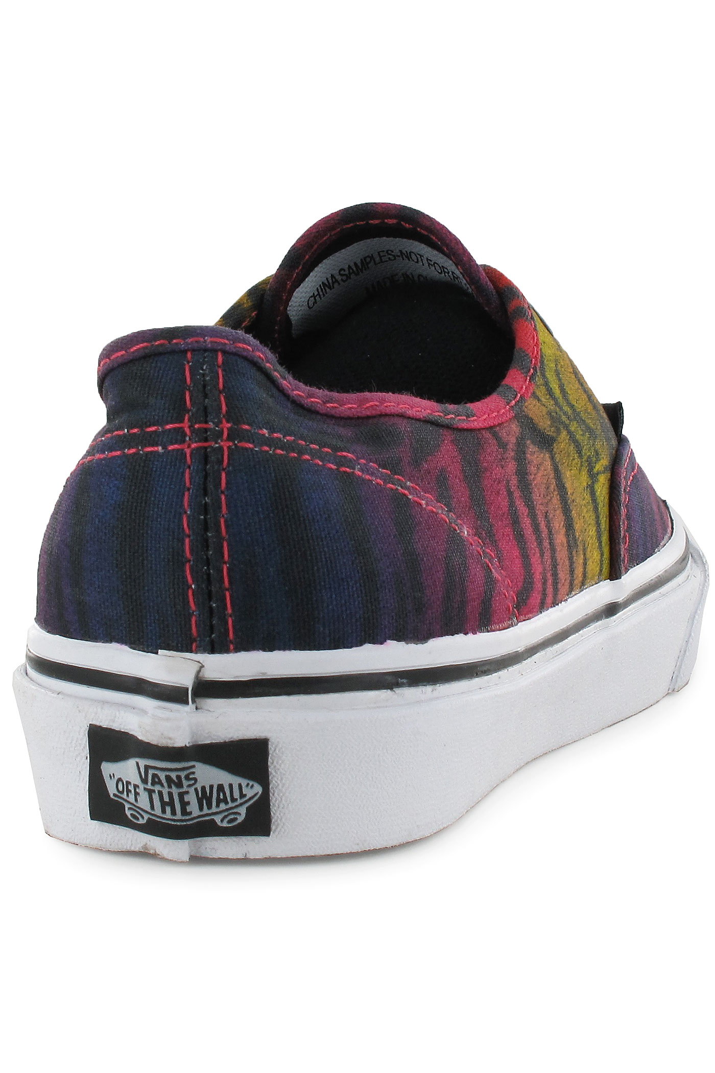 vans authentic tiger rainbow