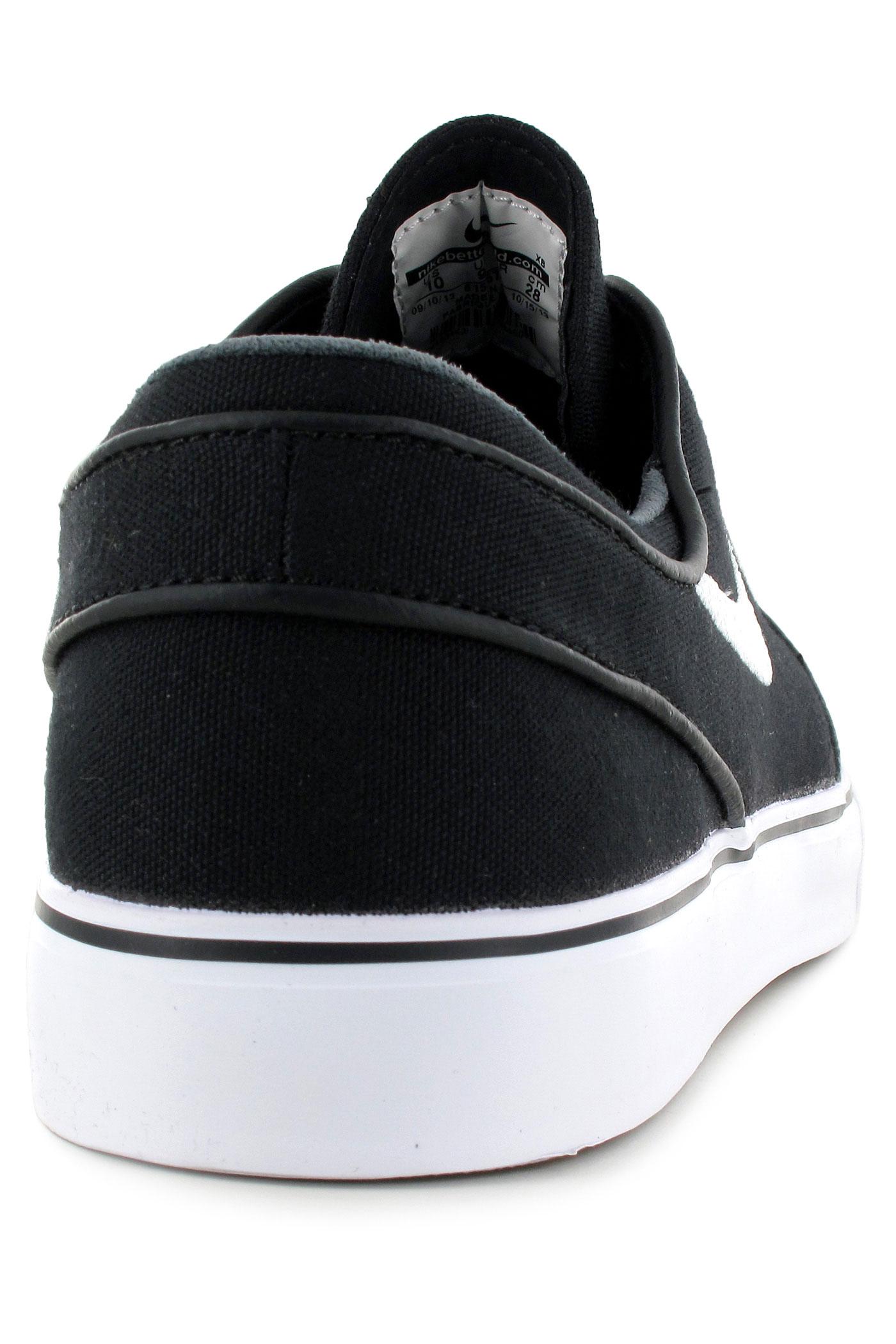 Nike Sb Zoom Stefan Janoski Cnvs Schuhe Jungs Off White-white