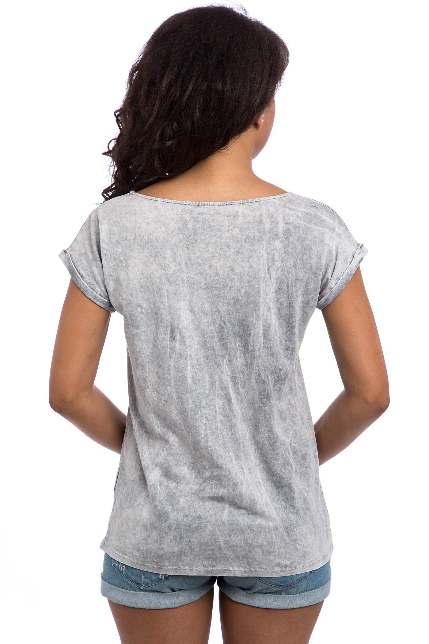 iriedaily vintage loose t shirt women light grey buy at. Black Bedroom Furniture Sets. Home Design Ideas