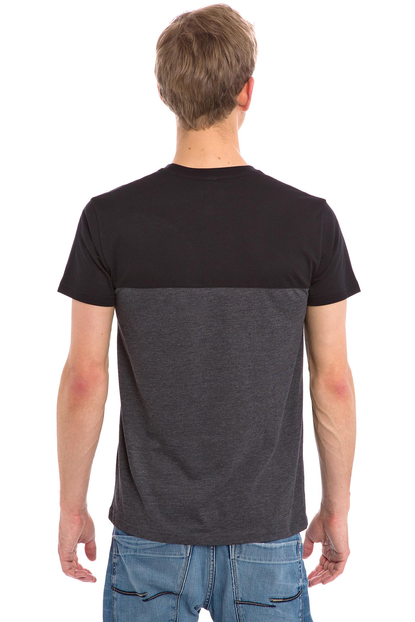 iriedaily block pocket t shirt black buy at skatedeluxe. Black Bedroom Furniture Sets. Home Design Ideas