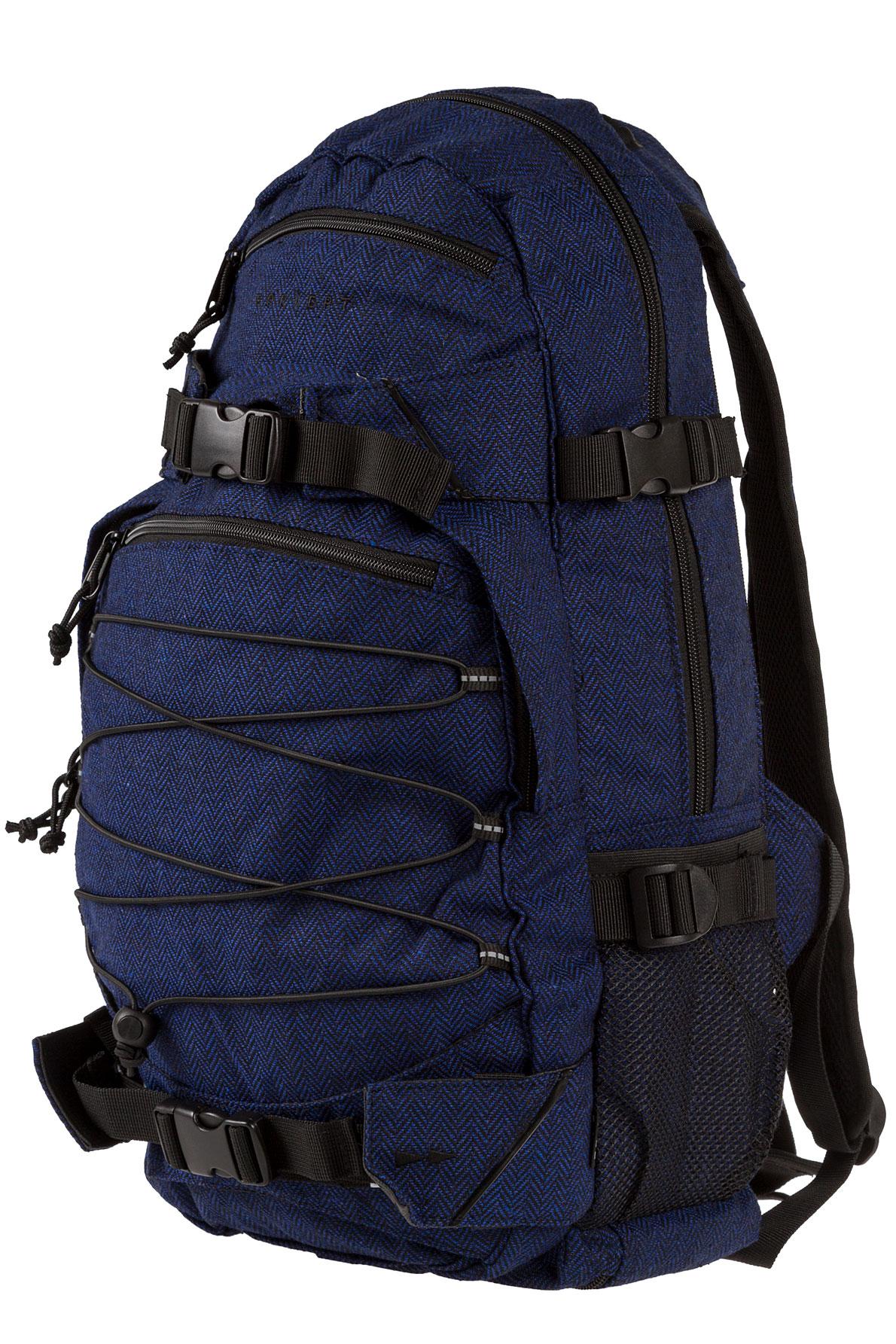 forvert new louis backpack 20l flannel navy buy at skatedeluxe. Black Bedroom Furniture Sets. Home Design Ideas
