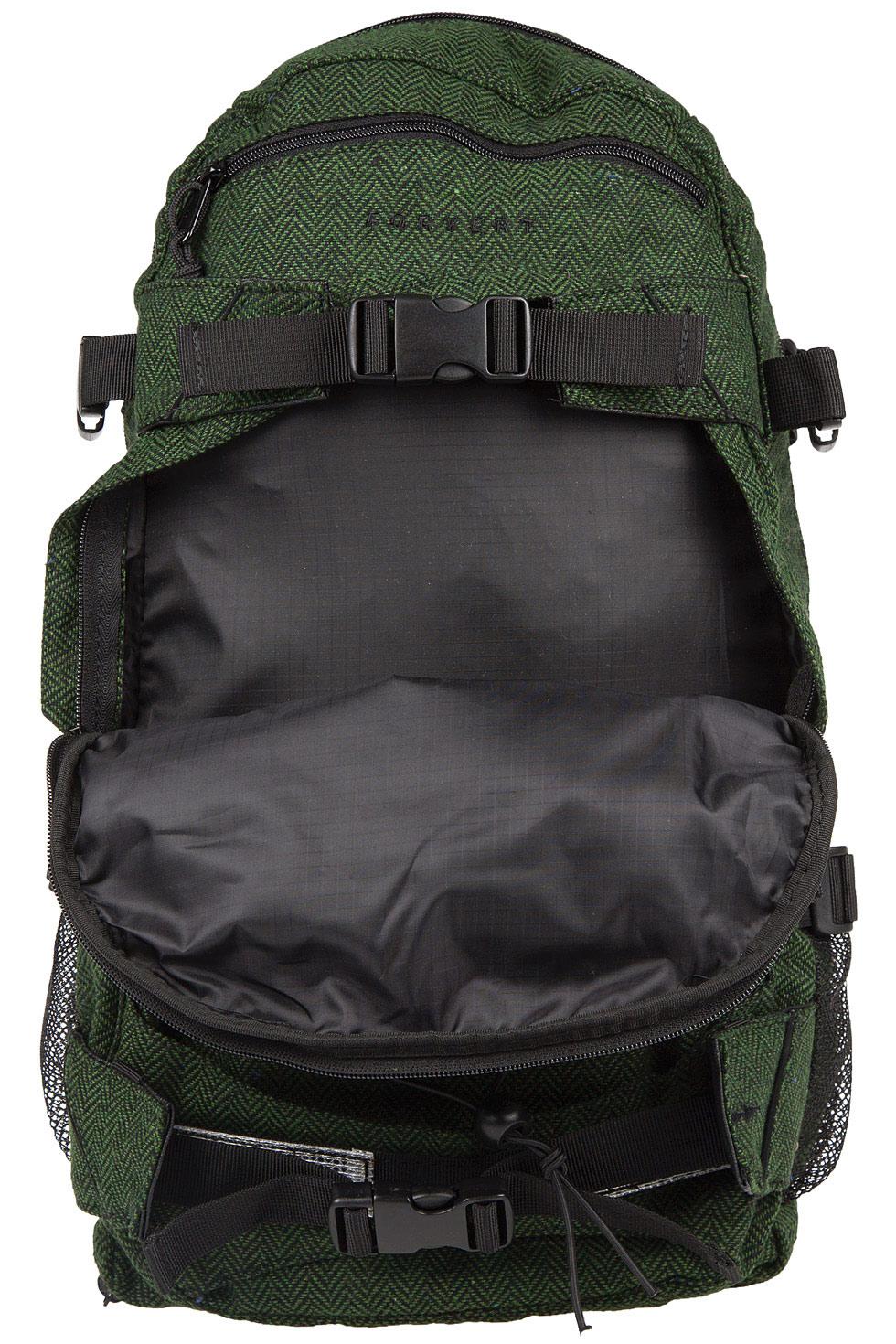 forvert new louis backpack 20l flannel green buy at skatedeluxe. Black Bedroom Furniture Sets. Home Design Ideas