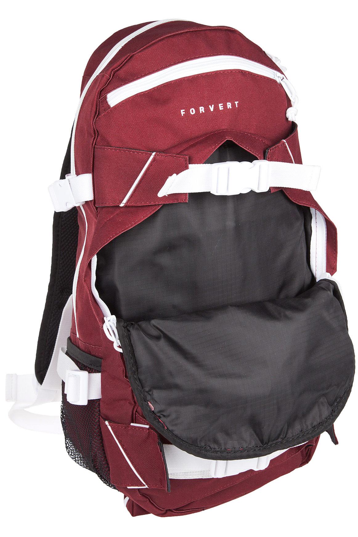 forvert ice louis backpack 20l burgundy achetez sur. Black Bedroom Furniture Sets. Home Design Ideas