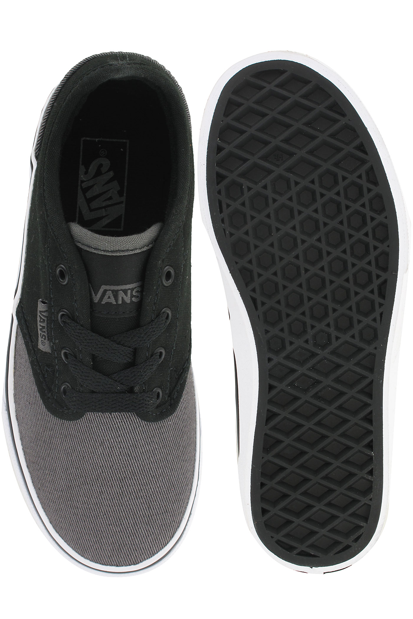 vans atwood black grey