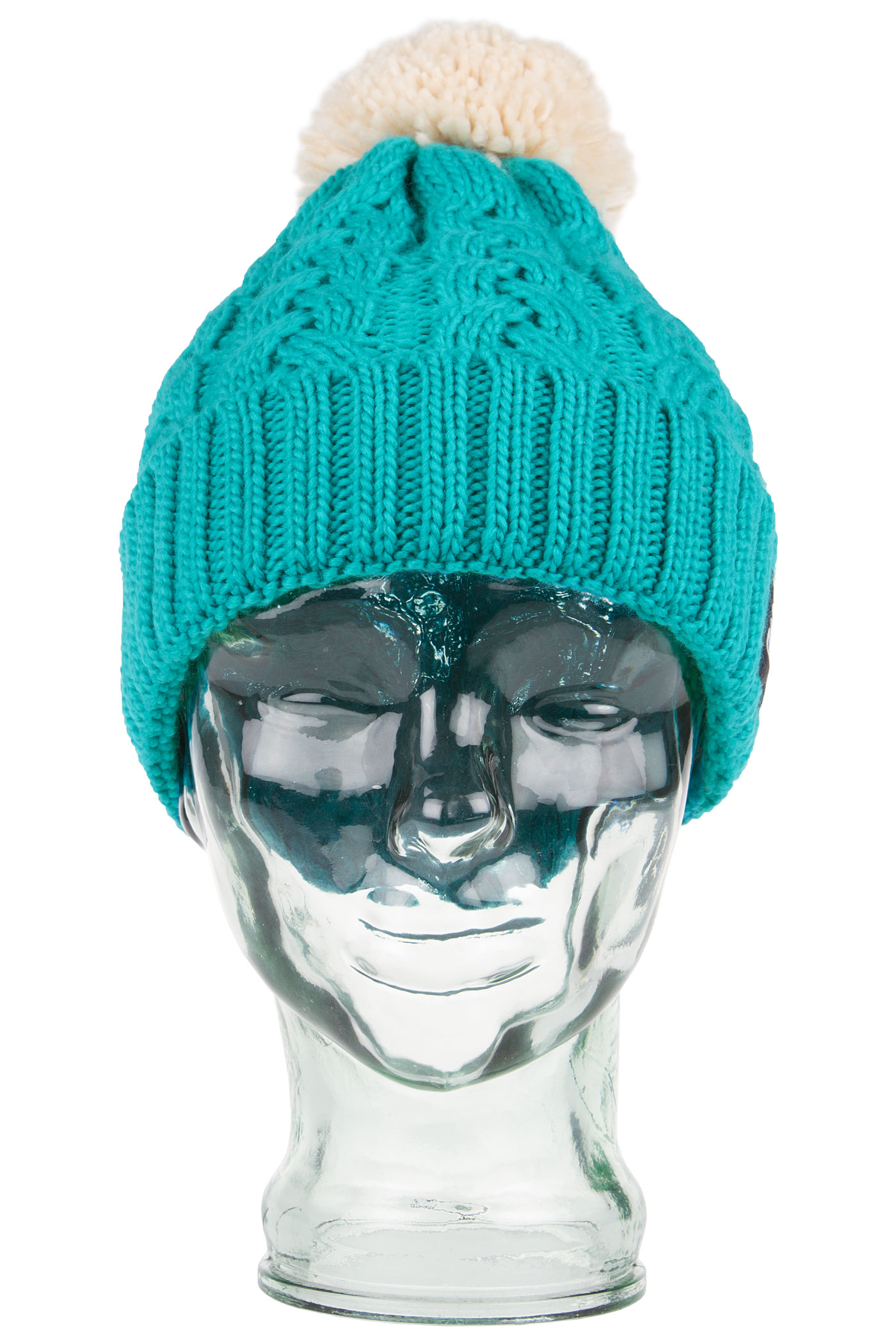 Knitty : Home Page Accessories Beanies SK8DLX Knitty Beanie (green fog)