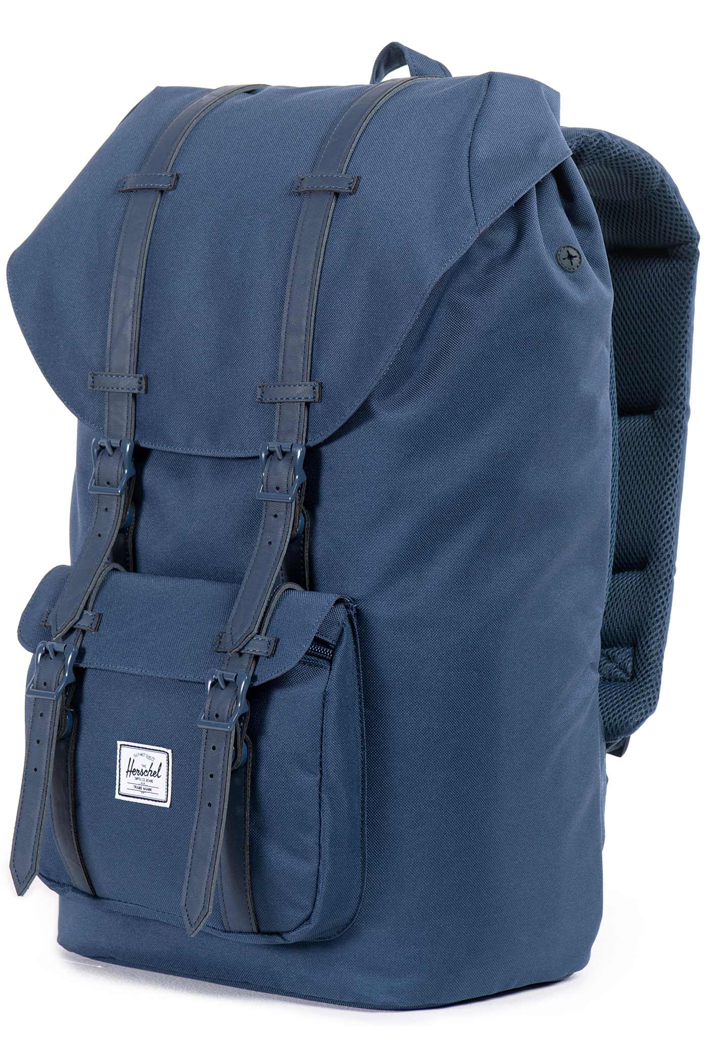 herschel little america backpack 25l navy navy buy at. Black Bedroom Furniture Sets. Home Design Ideas