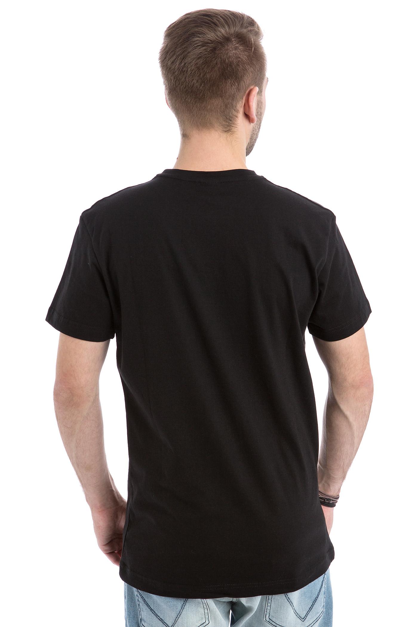 iriedaily harpoon flag t shirt black buy at skatedeluxe. Black Bedroom Furniture Sets. Home Design Ideas